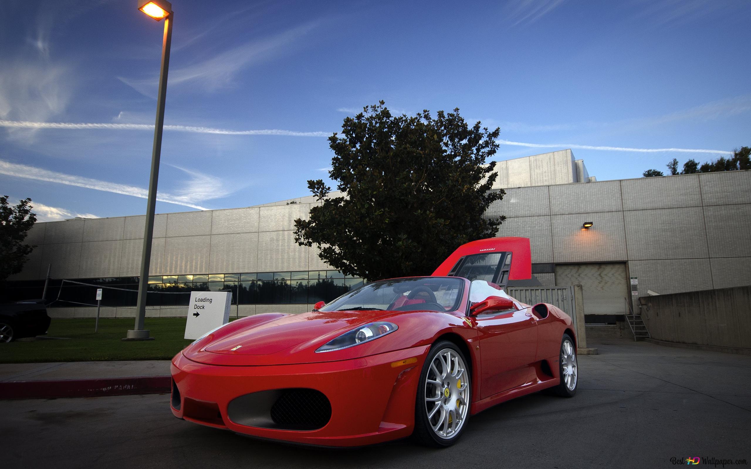 Red Ferrari 458 Hd Wallpaper Download