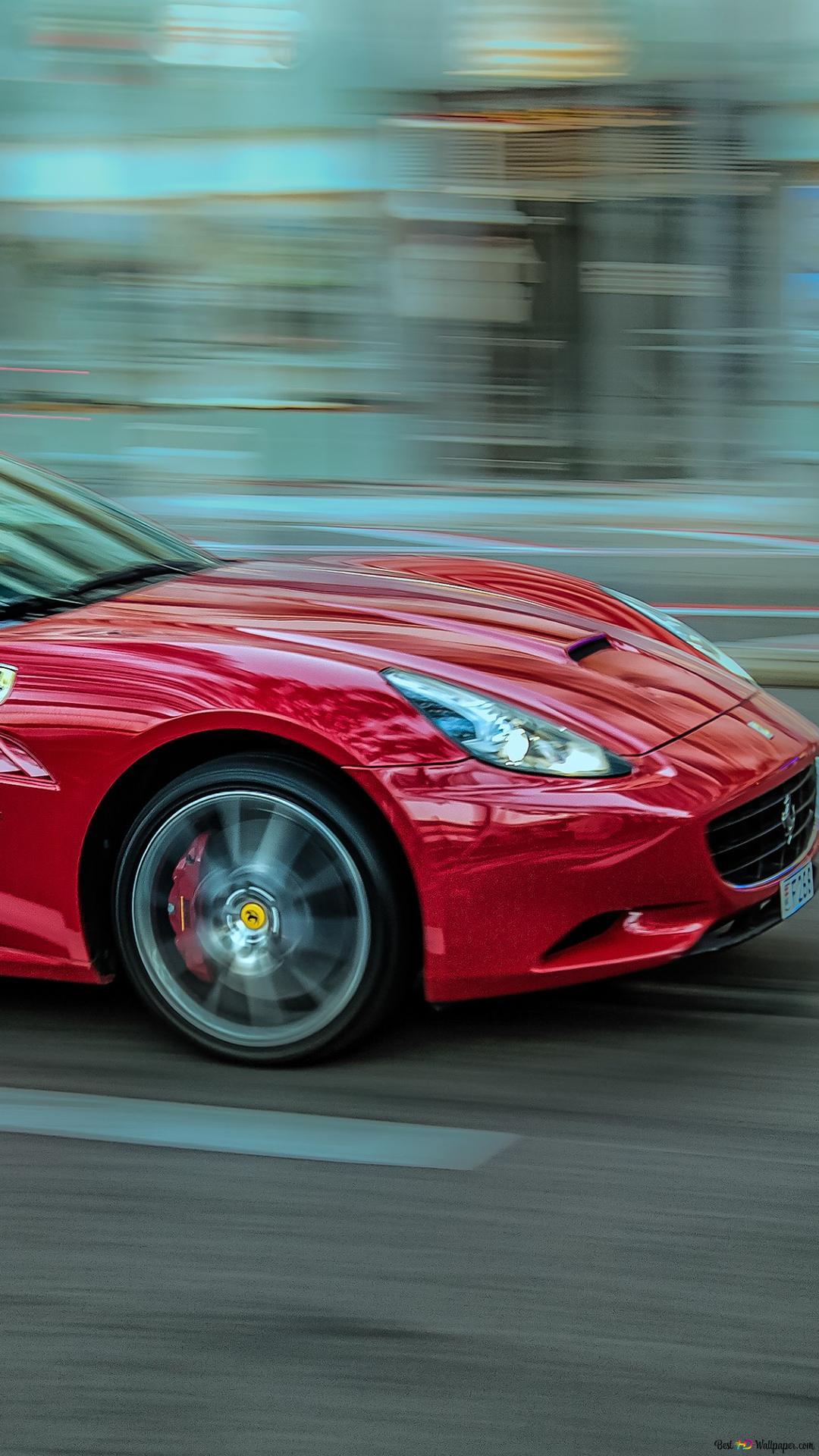 Red Ferrari Hd Wallpaper Download