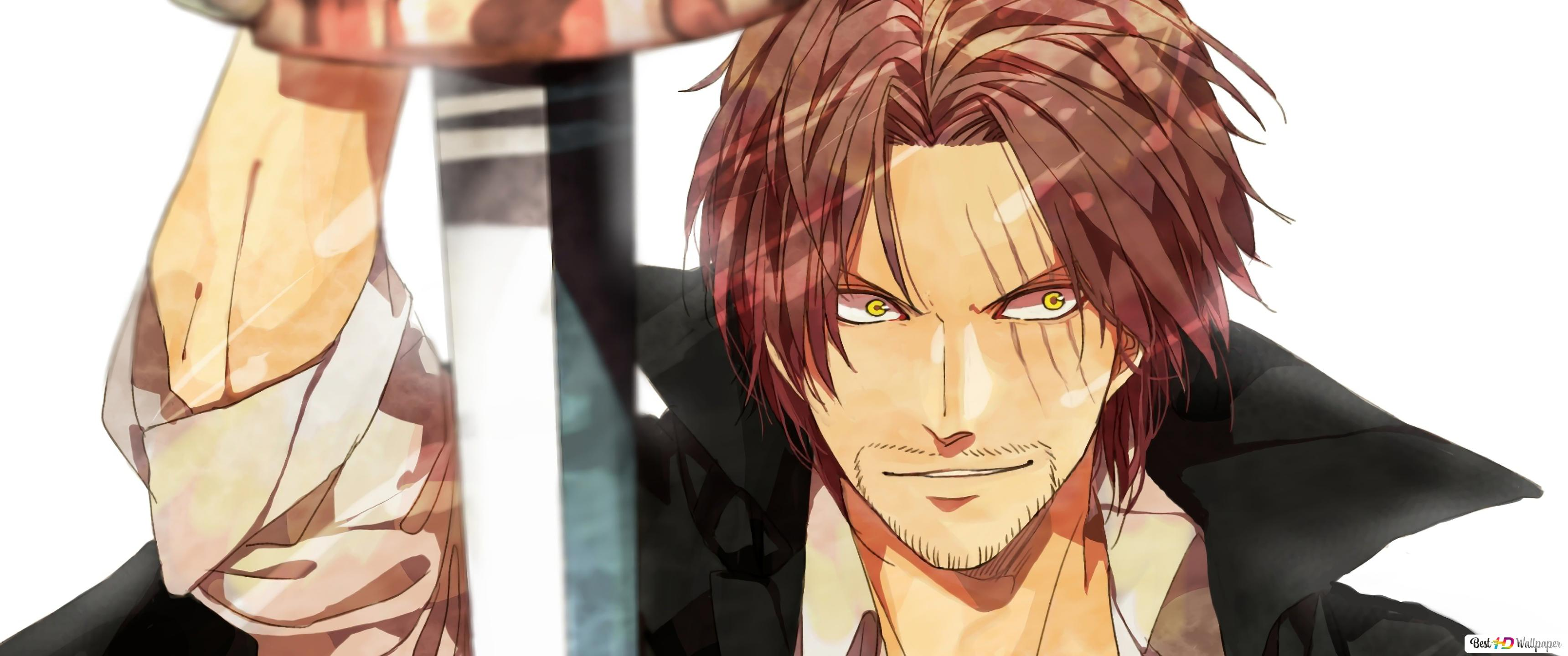 Red Haired Shanks One Piece Hd Wallpaper Download