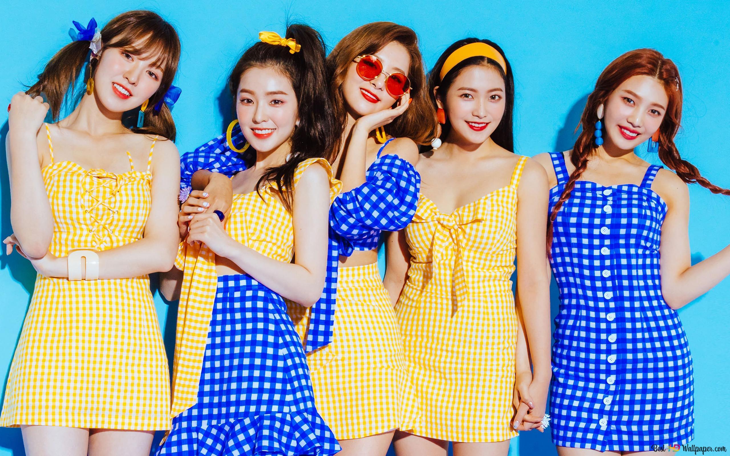 Red Velvet' Mitglieder (K-Pop-Band) HD ...