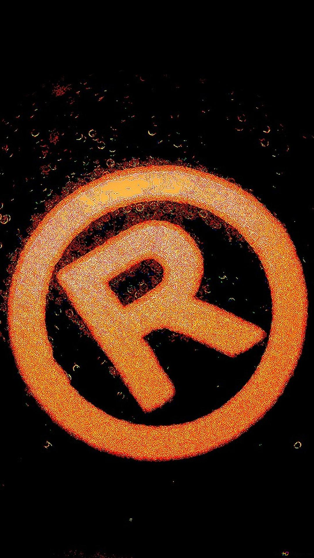 Registered Dark Logo Wallpaper Hd Wallpaper Download