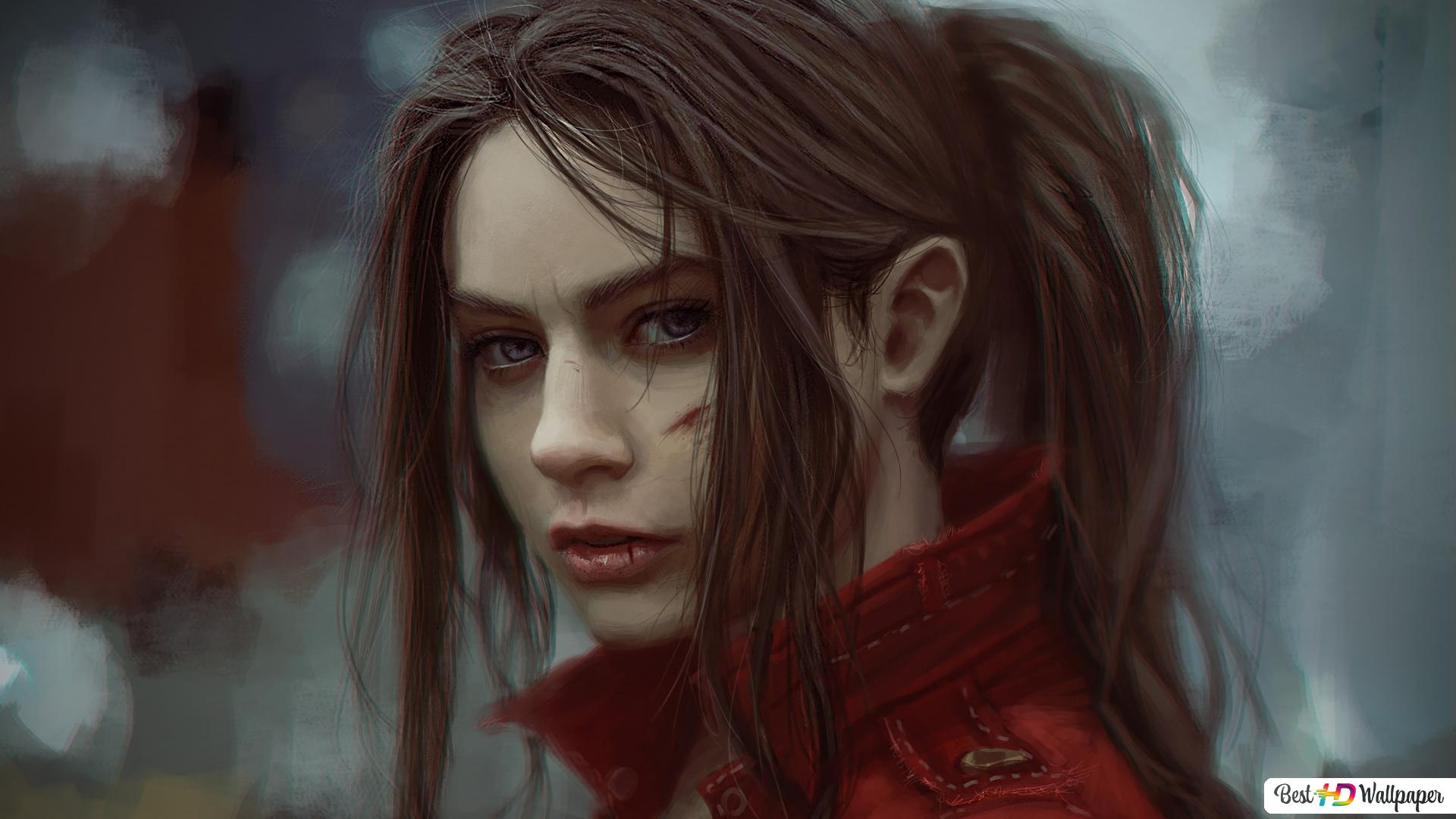 Resident Evil 2 2019 Claire Redfield Hd Wallpaper Download