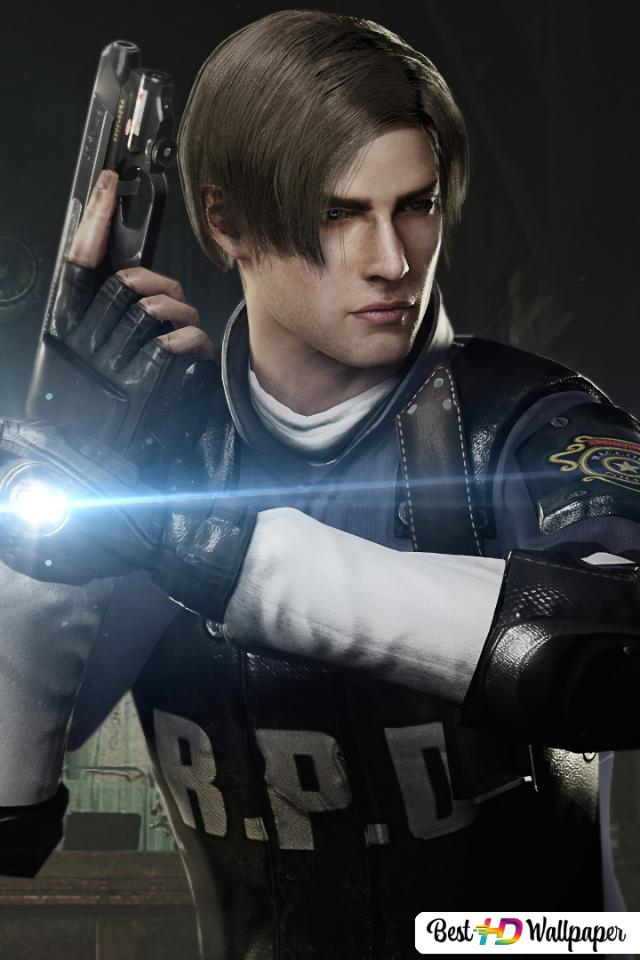 Resident Evil 2 2019 Leon Scott Kennedy Ada Wong Hd