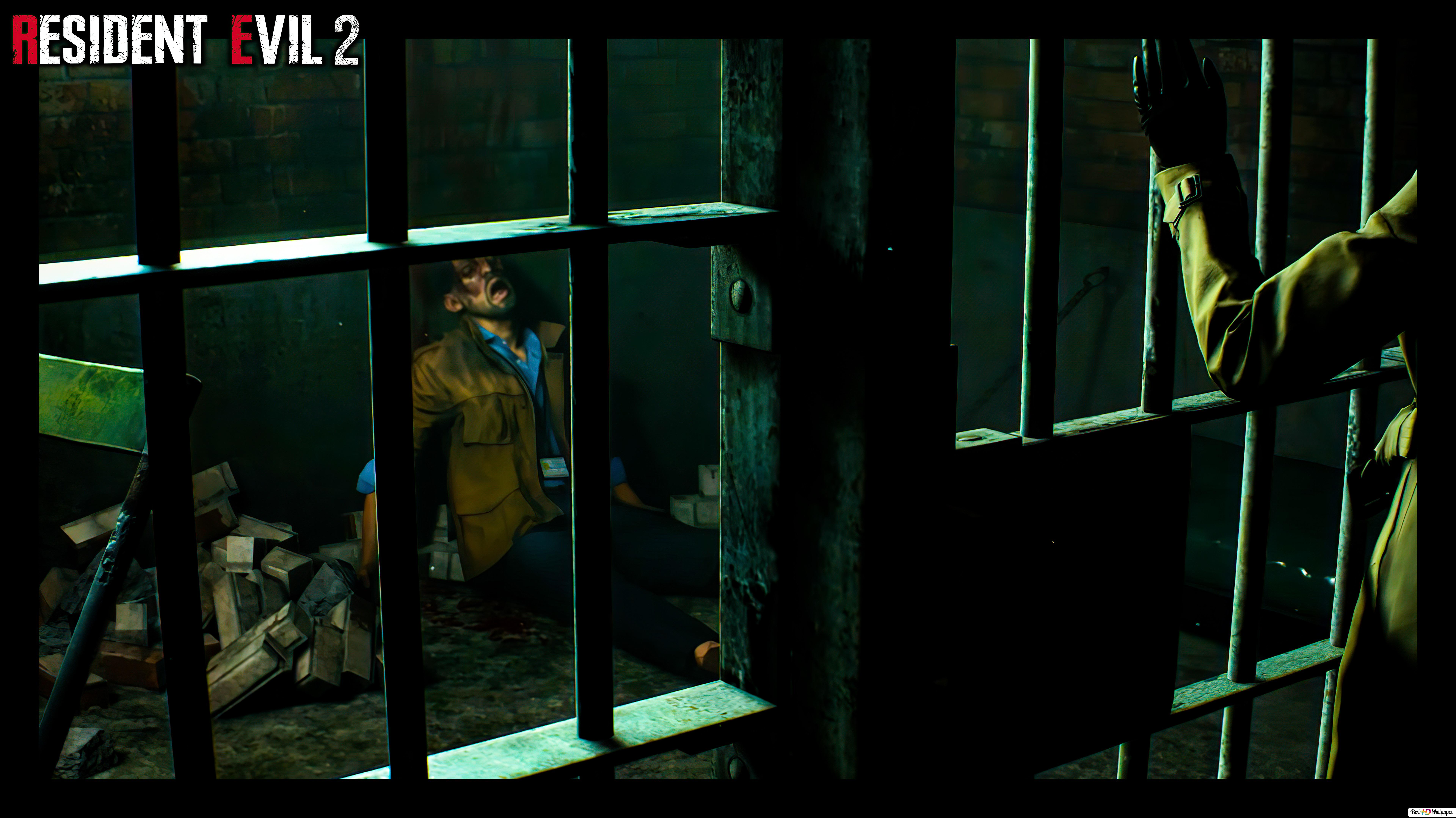 Resident Evil 2 Remake Ada Jail 8k 4k Hd Wallpaper Download