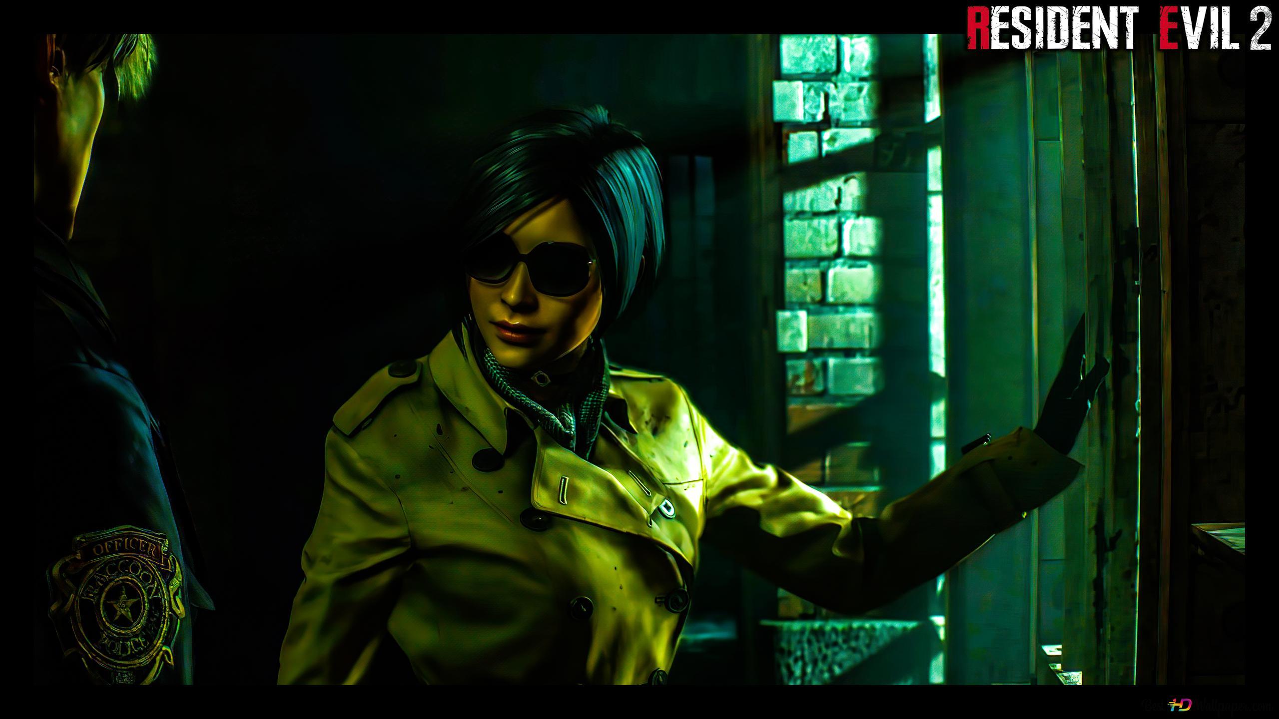 Resident Evil 2 Remake Ada Leon Jail 8k 4k Hd Wallpaper Download