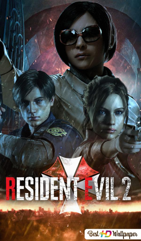 Resident Evil 2 Remake Leon S Kennedy Ada Wong Claire