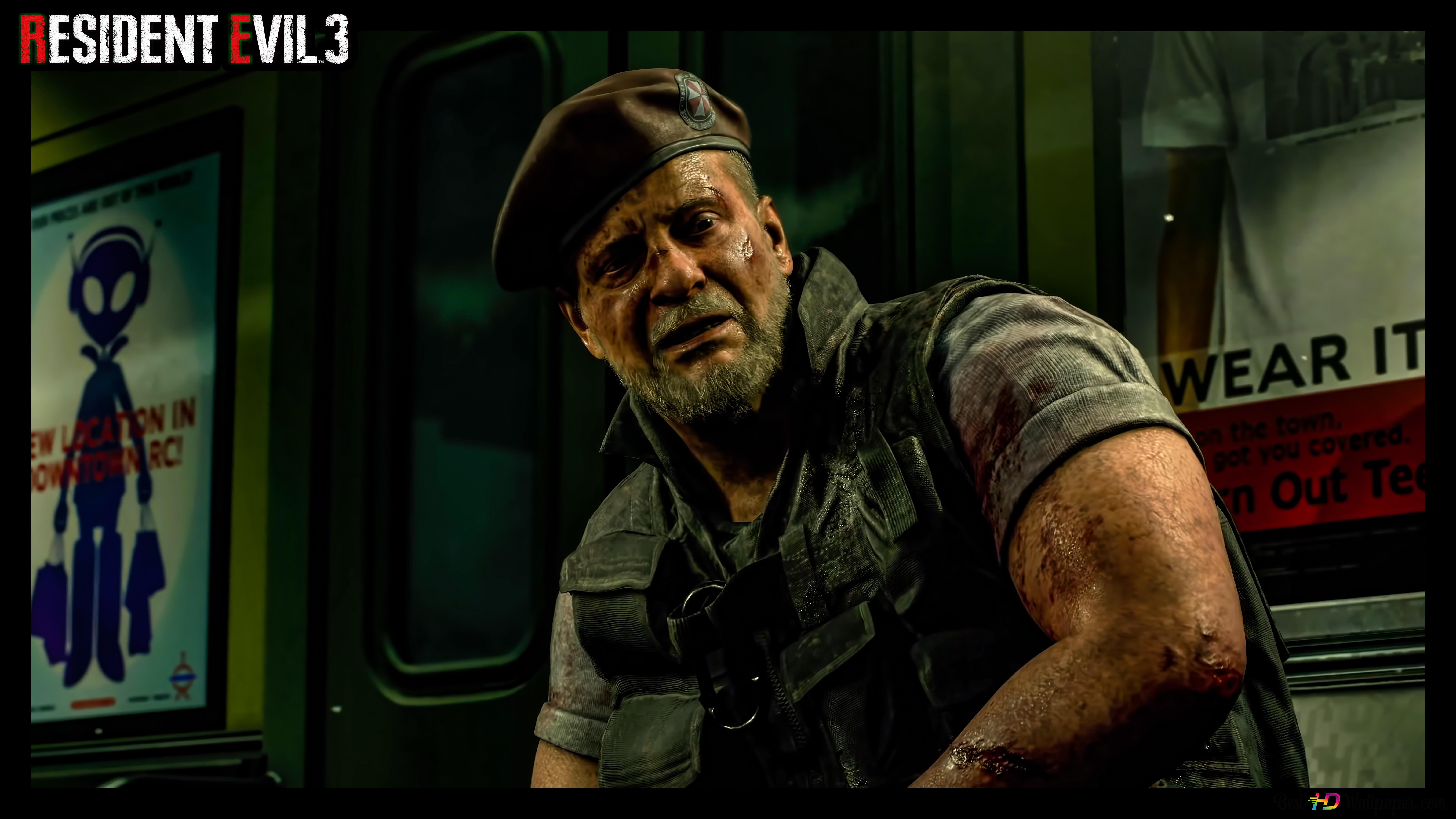 Resident Evil 3 Remake 08 8k 4k Wallpaper Hd Wallpaper Download