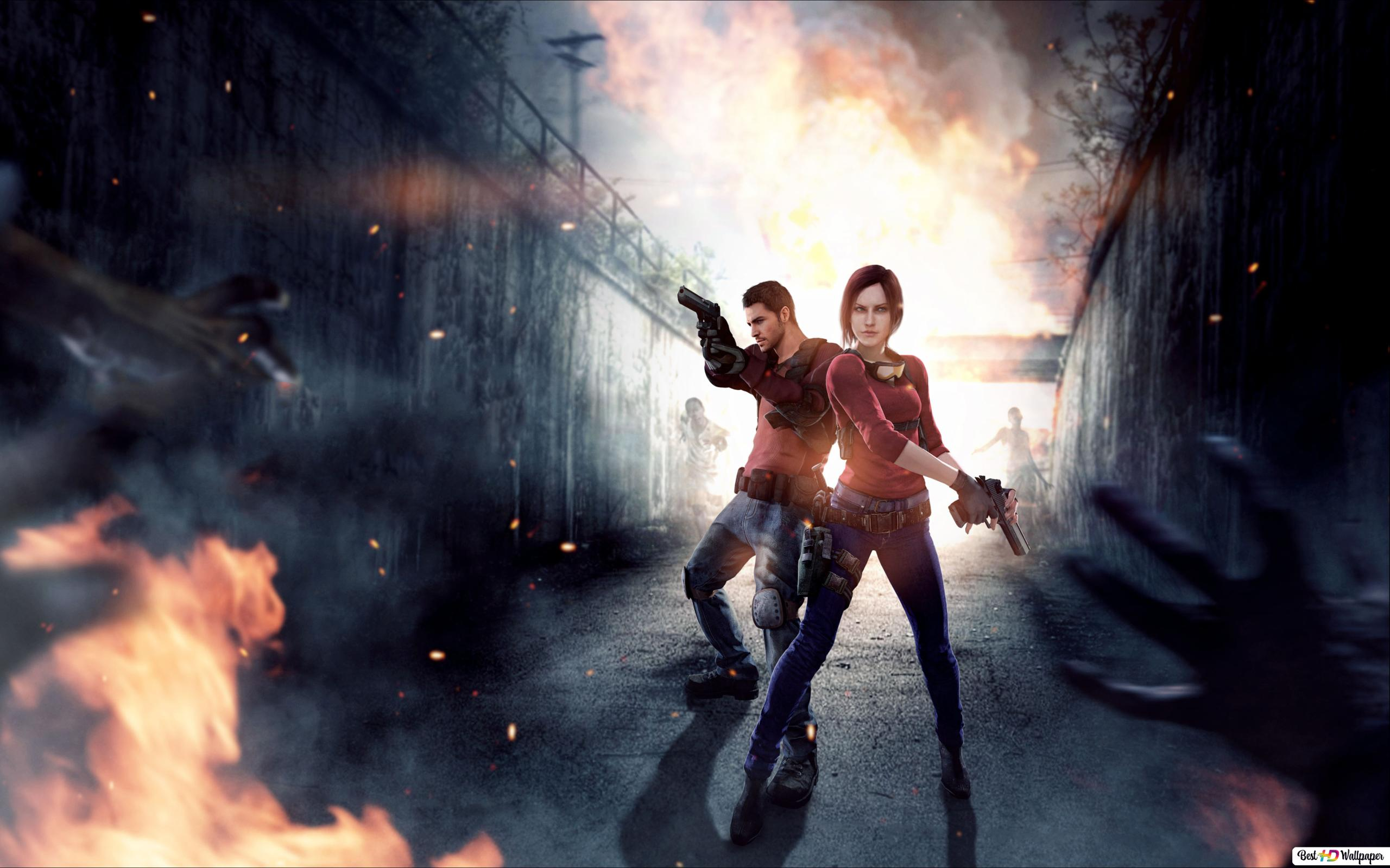 Resident Evil 7 Biohazard Claire Redfield Chris