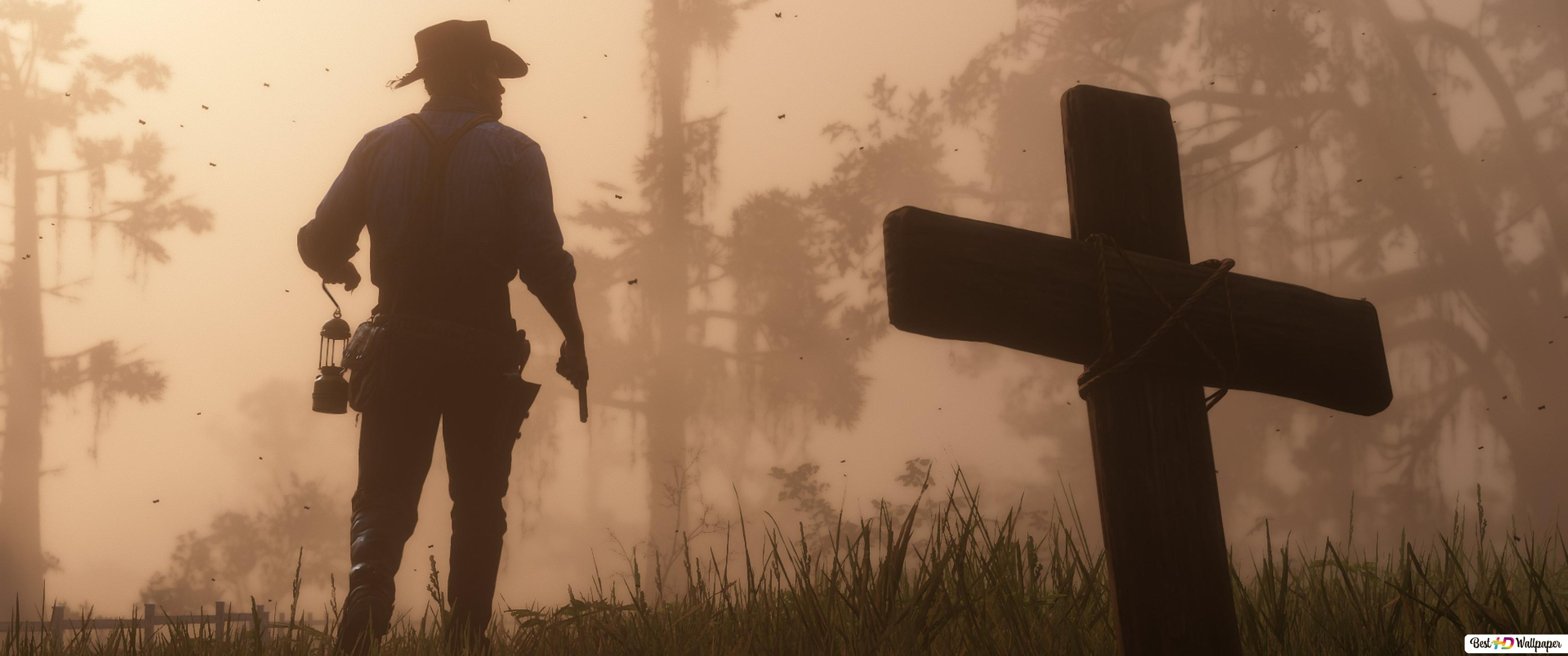 Rest In Peace At Red Dead Redemption Hd Wallpaper Download