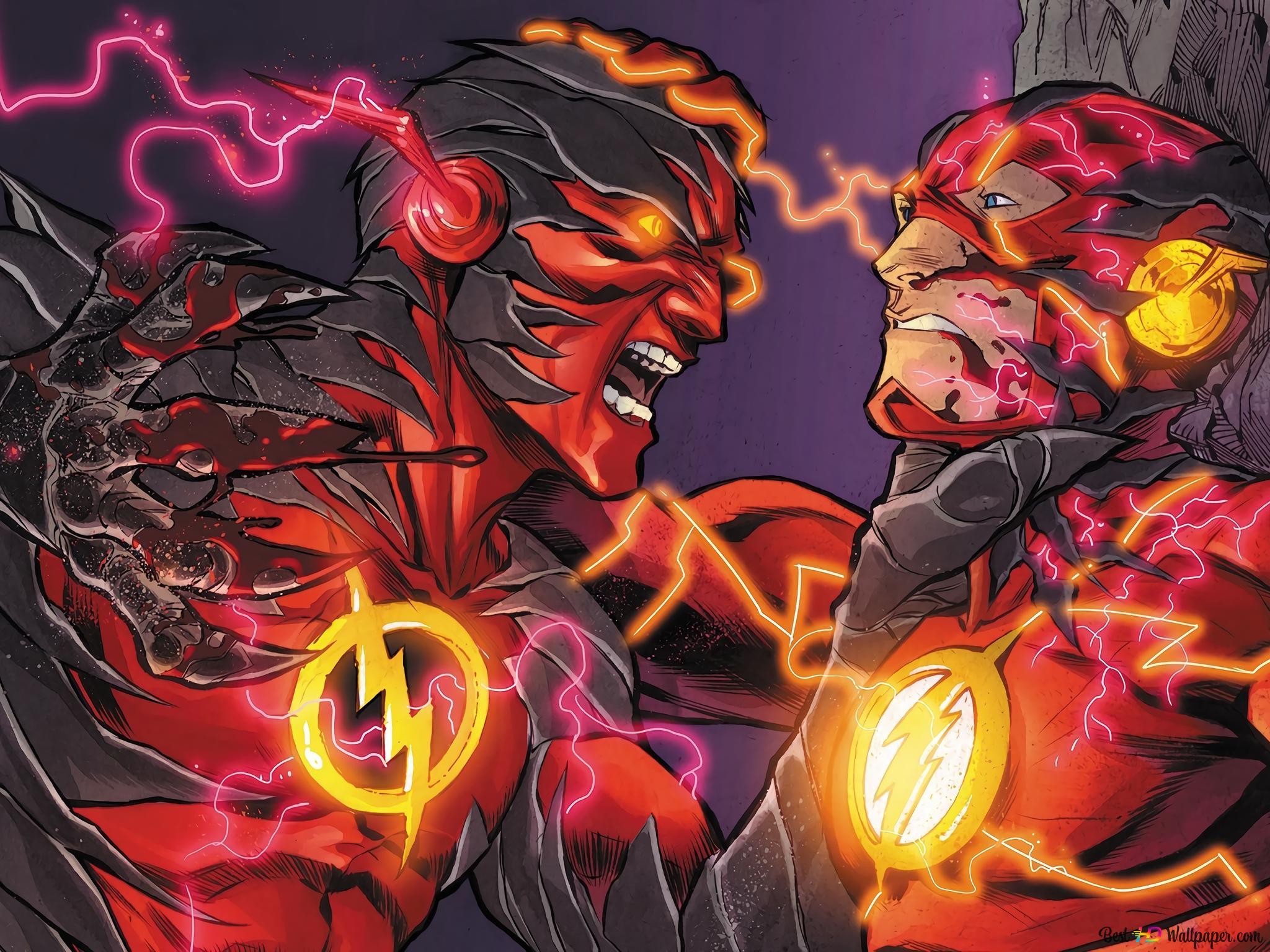 Reverse Flash Vs The Flash Hd Wallpaper Download