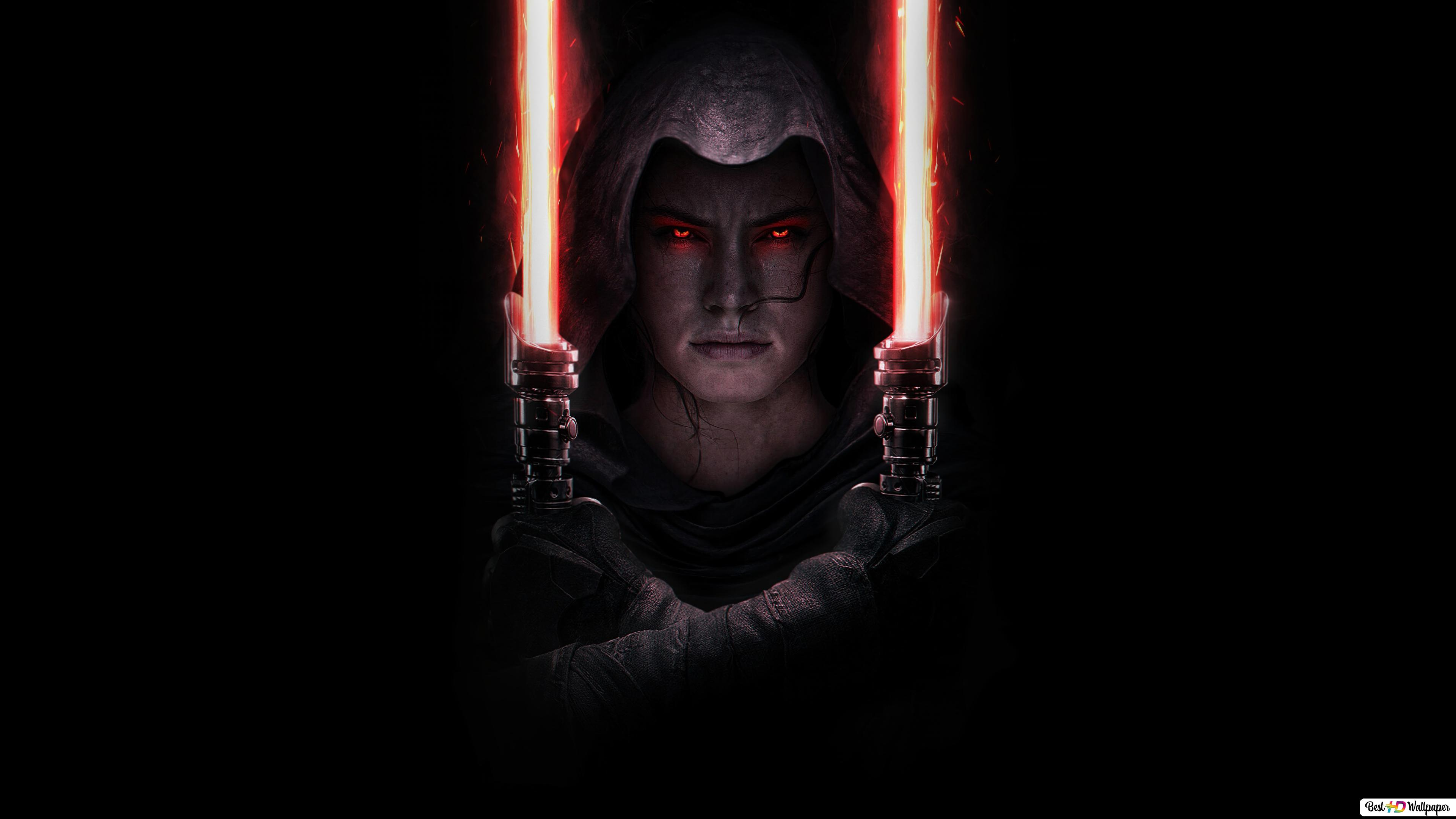Rey Dark Side Star Wars 9 Hd Wallpaper Download