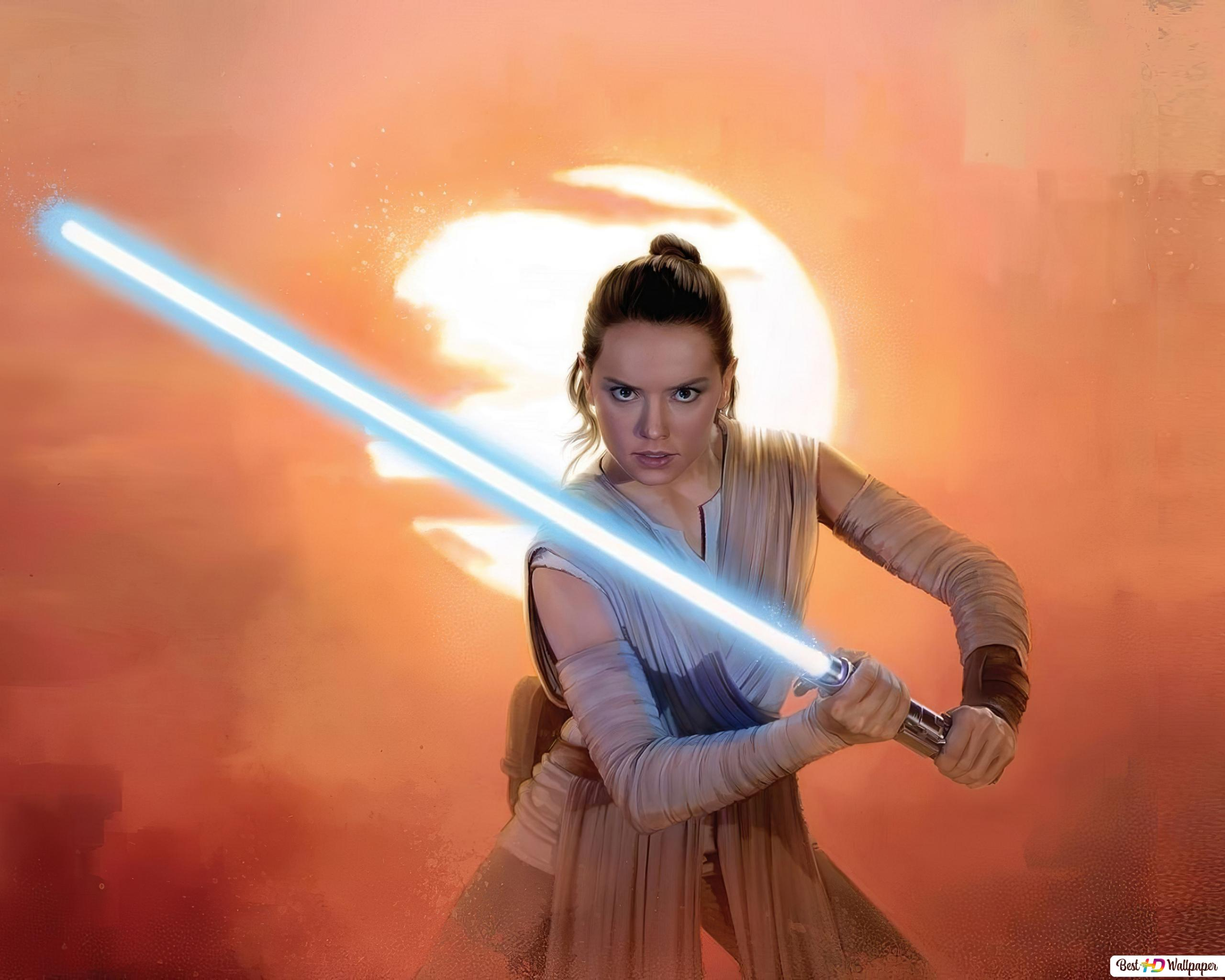 Rey Star Wars The Rise Of Skywalker Hd Wallpaper Download