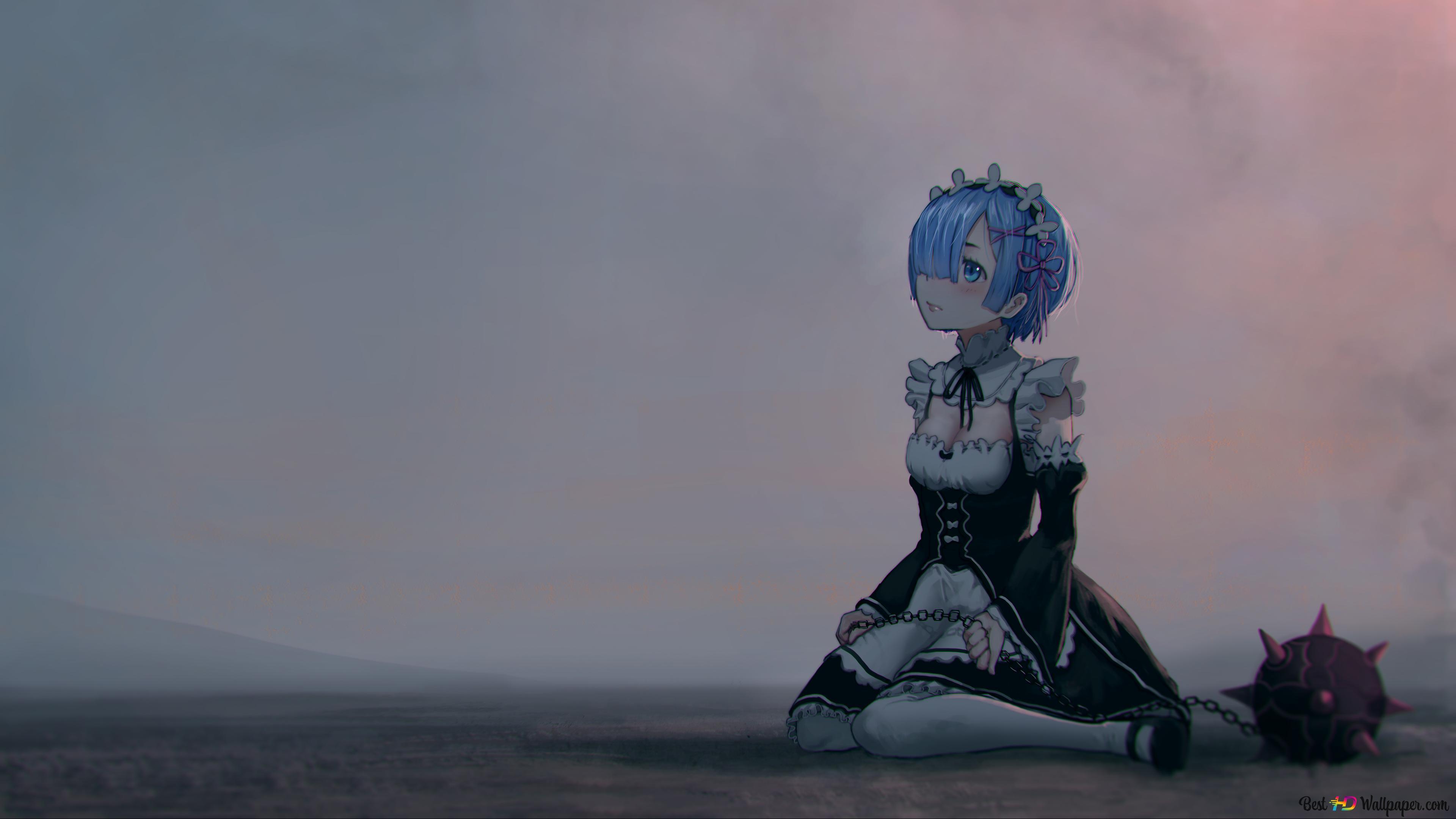 Rezero Avvio Di Vita In Un Altro Mondo Rem In Riva Al Mare