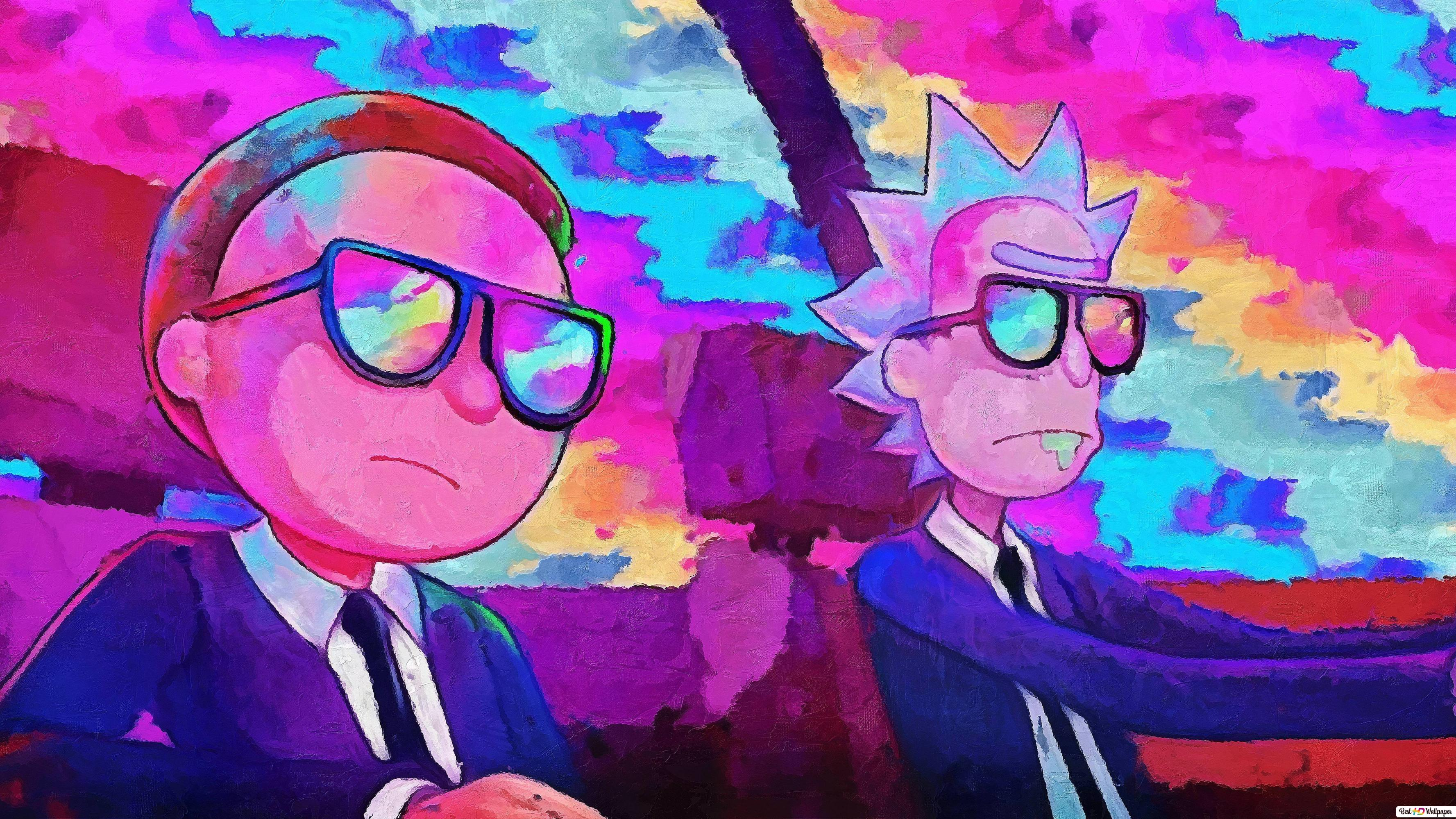 Rick And Morty Team Hd Wallpaper Download