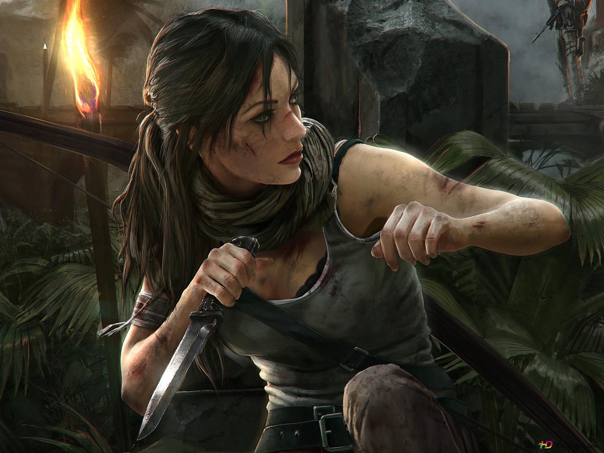 Rise Of The Tomb Raider Video Game Lara Croft Digital