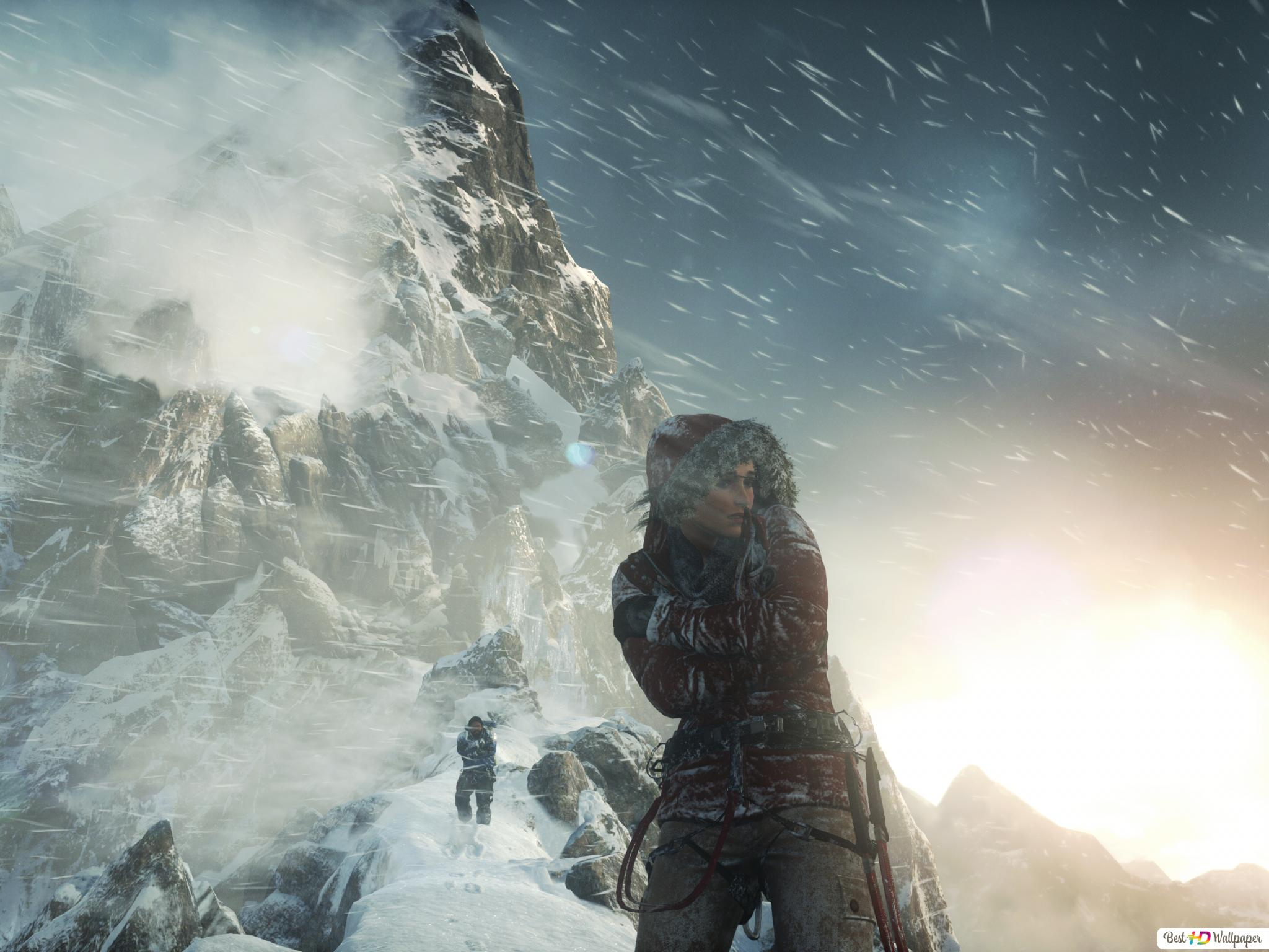 Rise Of The Tomb Raider Hd Wallpaper Download