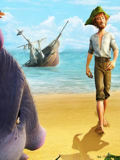 Robinson Crusoe Yaban Hayatı Film Hd Duvar Kağıdı Indir