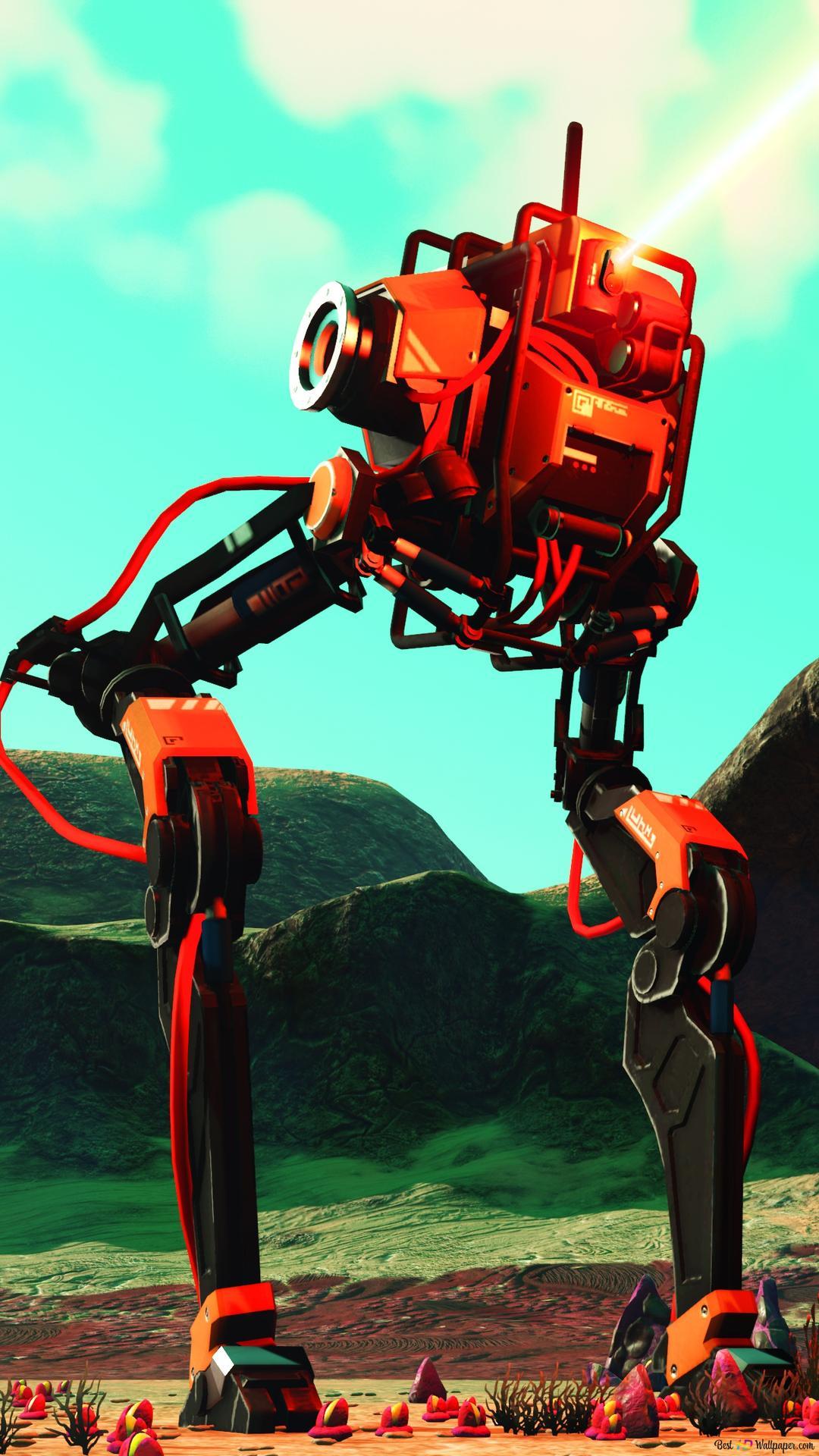 Robotech Of No Man S Sky Hd Wallpaper Download