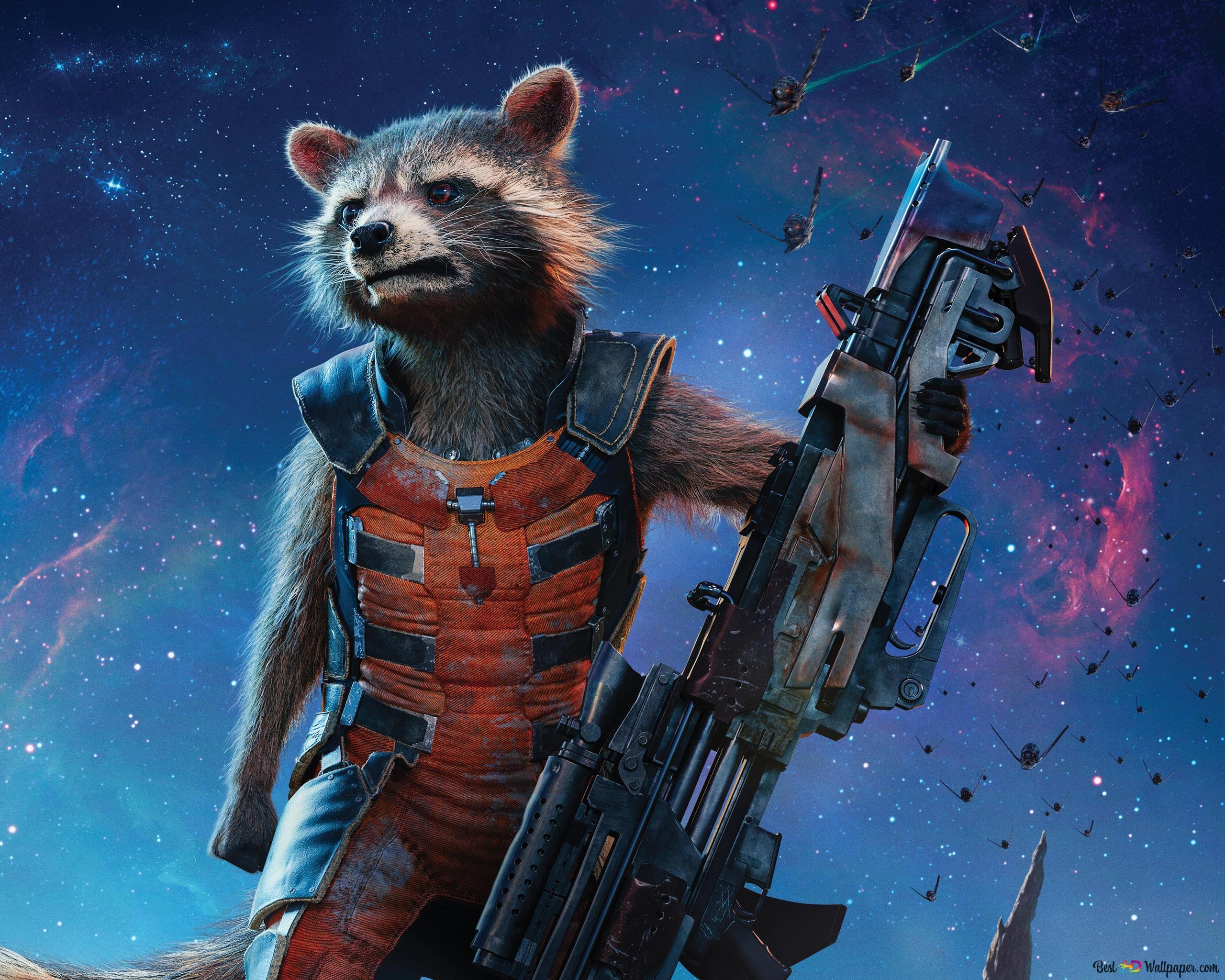 Rocket Raccoon Guardian Of The Galaxy Hd Wallpaper Download