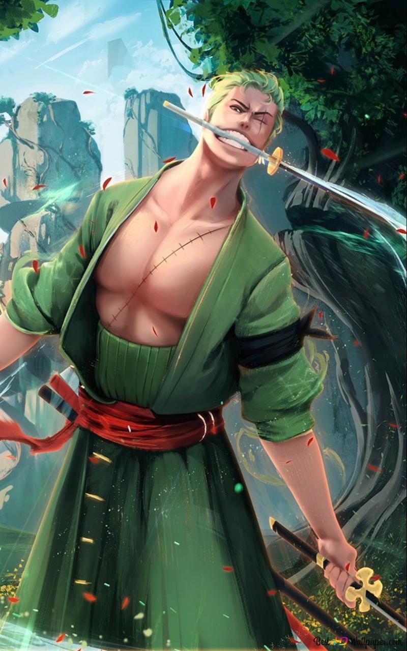 Roronoa Zoro Three Sword Style Hd Wallpaper Download