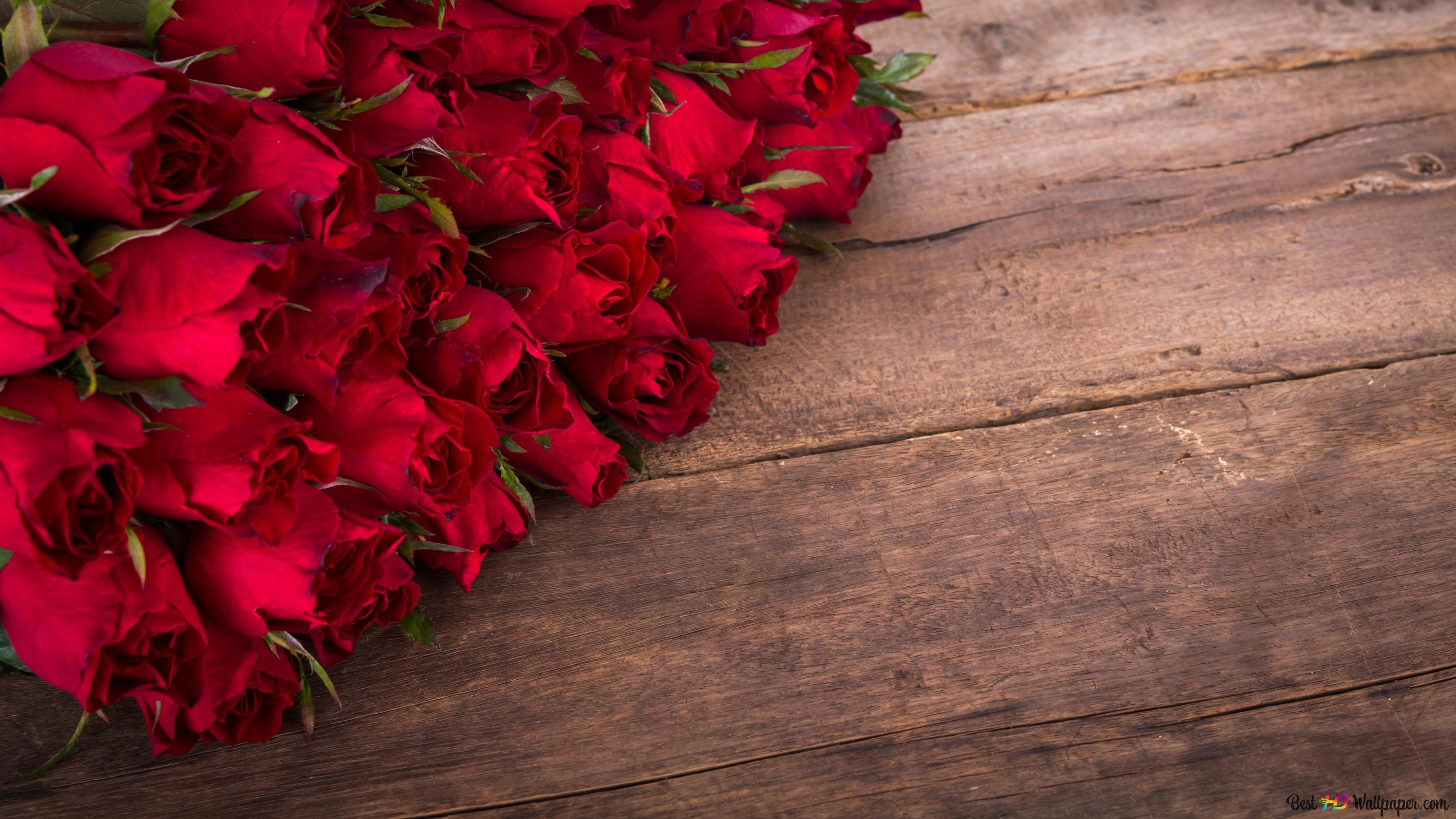 Rose Bouquet Hd Wallpaper Downloaden