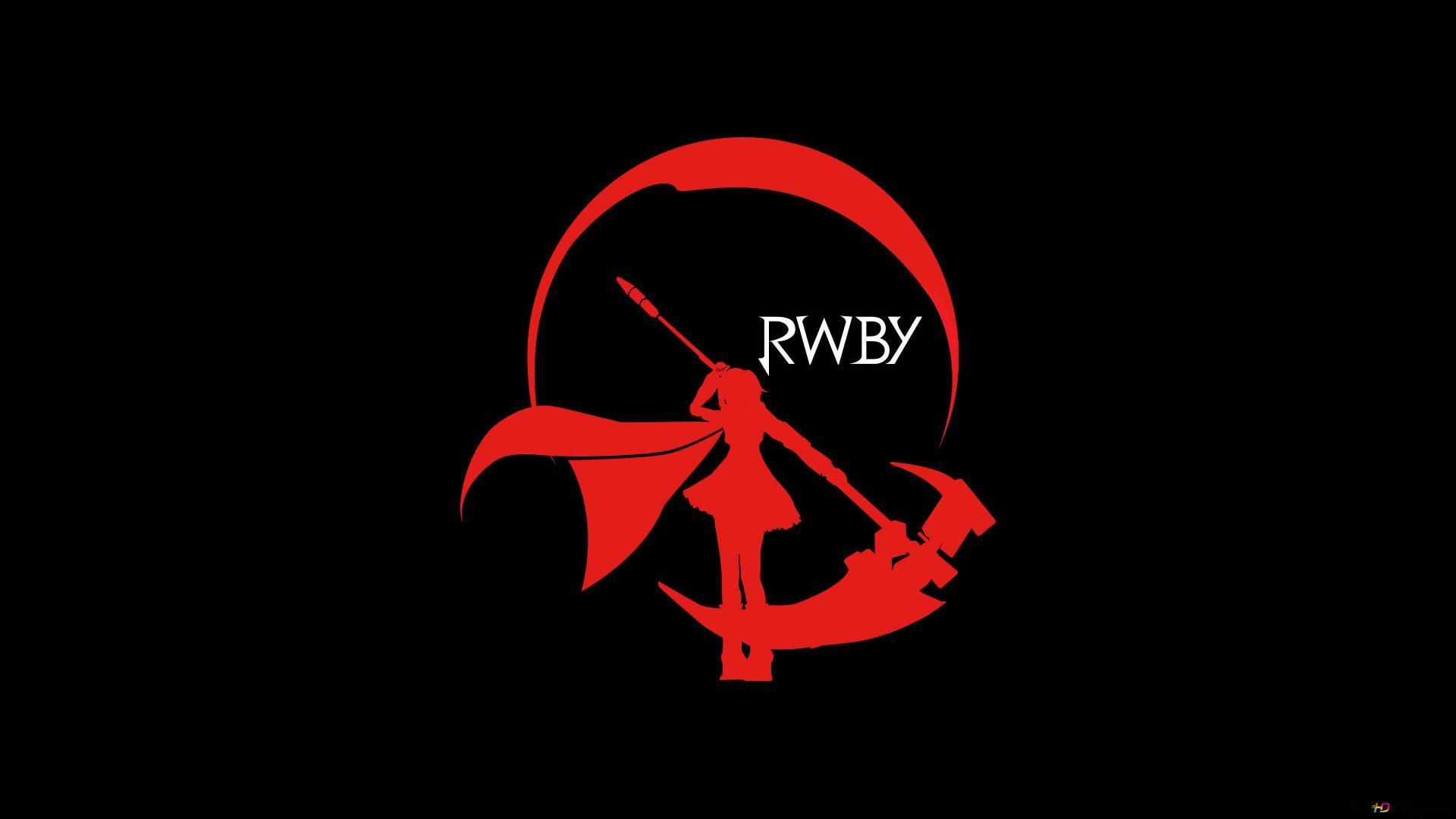 Rwby ルビーローズ Scyth月ロゴ Hd壁紙のダウンロード