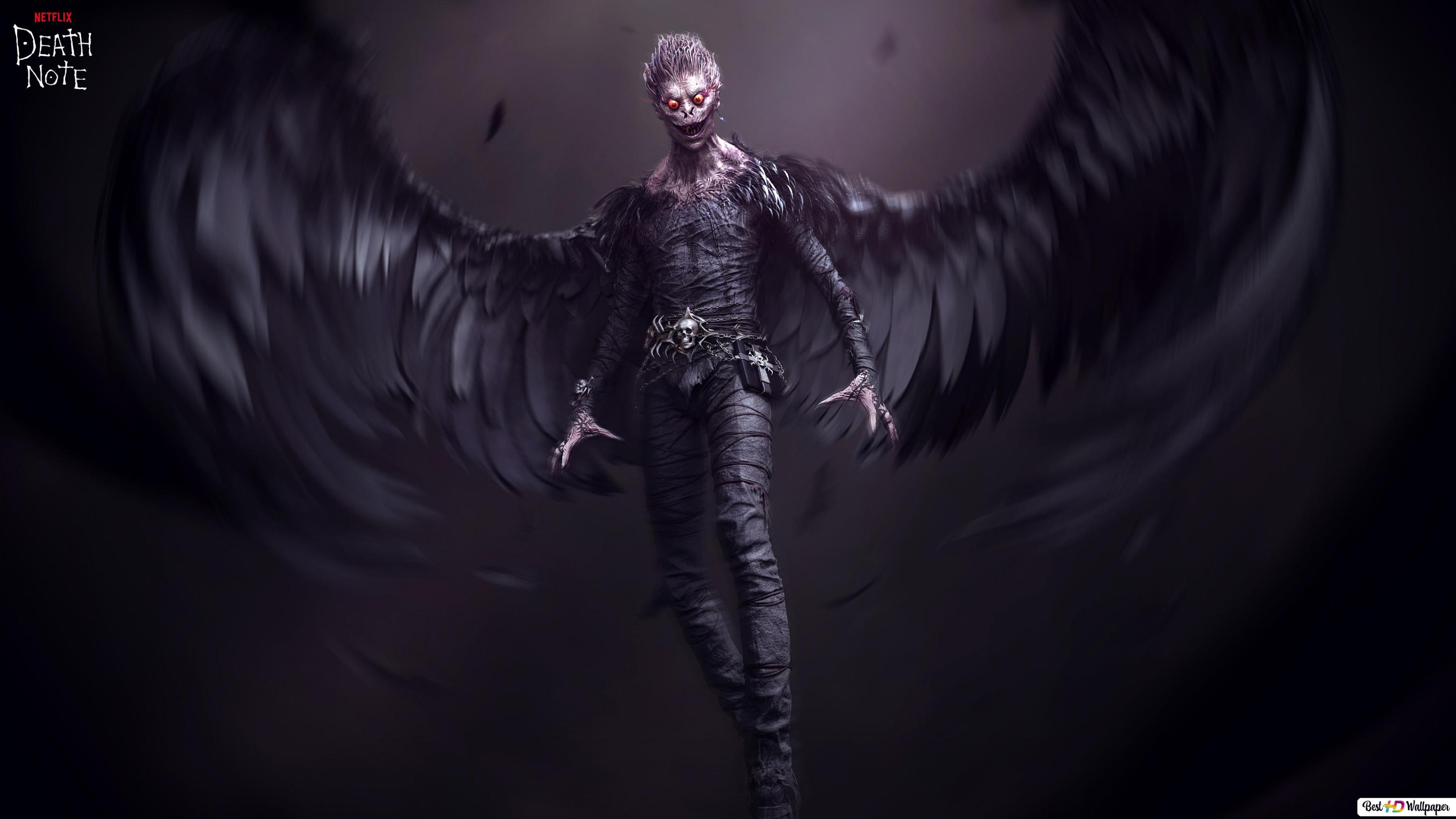 Ryuk From Death Note Anime Hd Wallpaper Download
