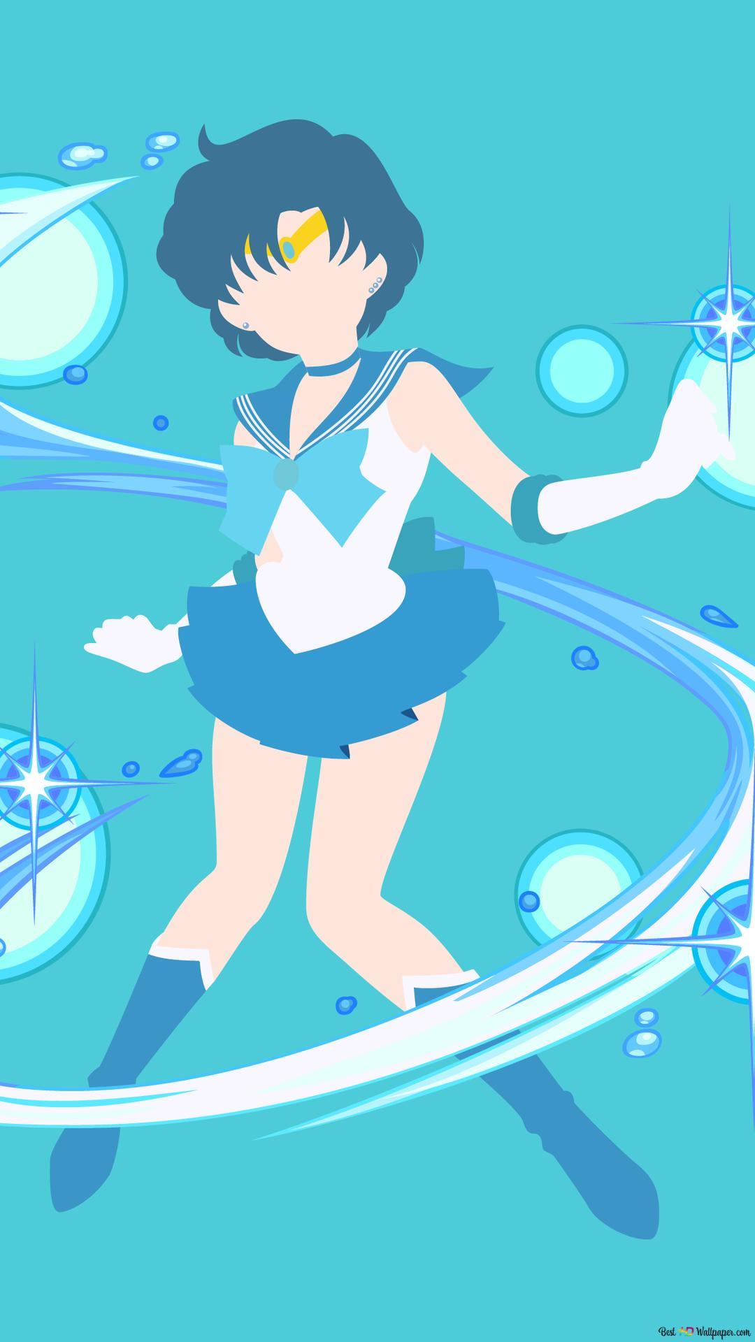 Wallpaper Sailor Mercury