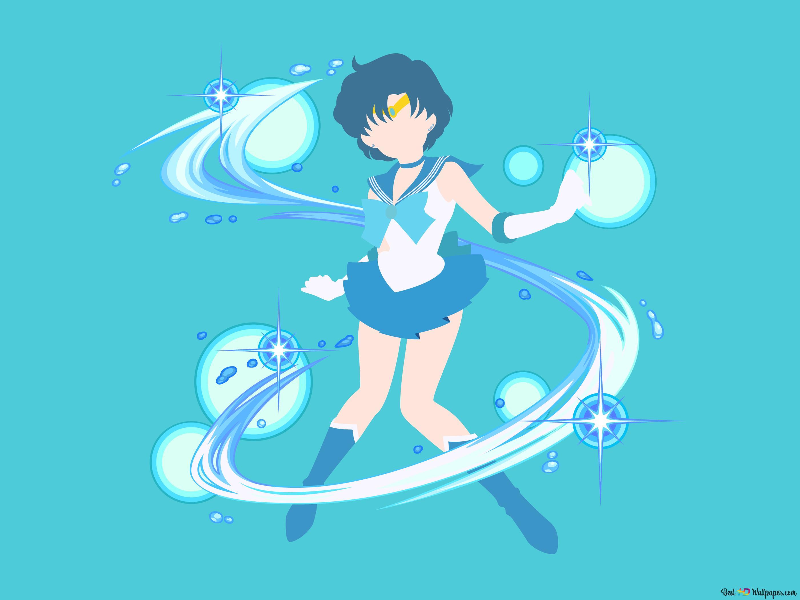 Sailor Mercury Hd Wallpaper Download