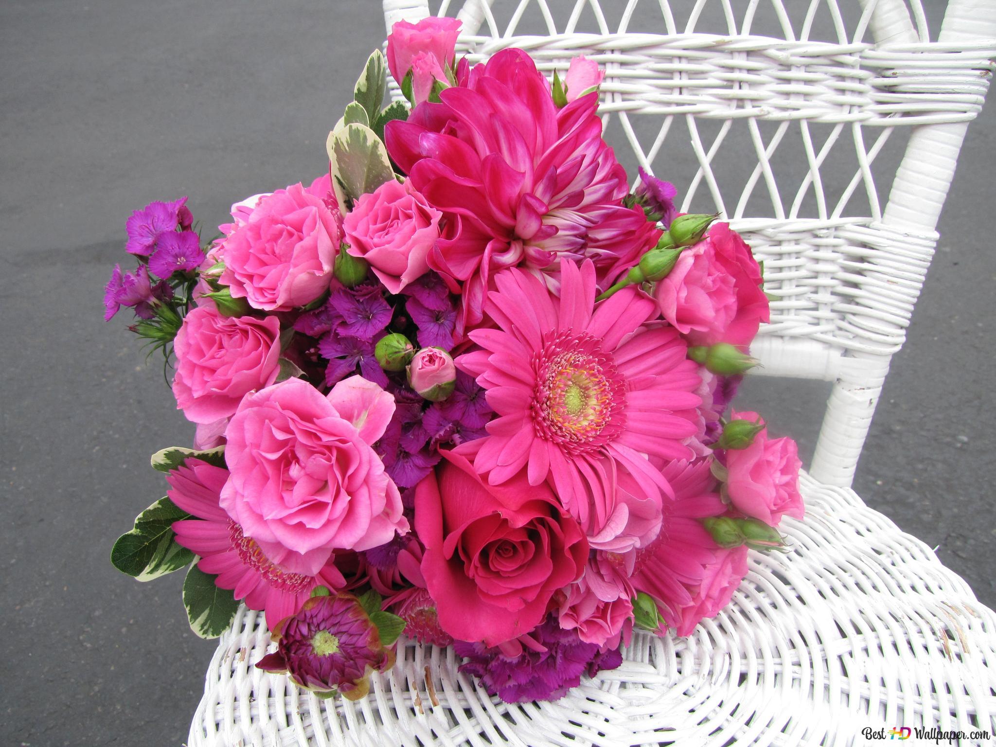 Hd Télécharger Roses Bouquet D'écran Valentin Fond Saint Fleurs fym6vIb7gY