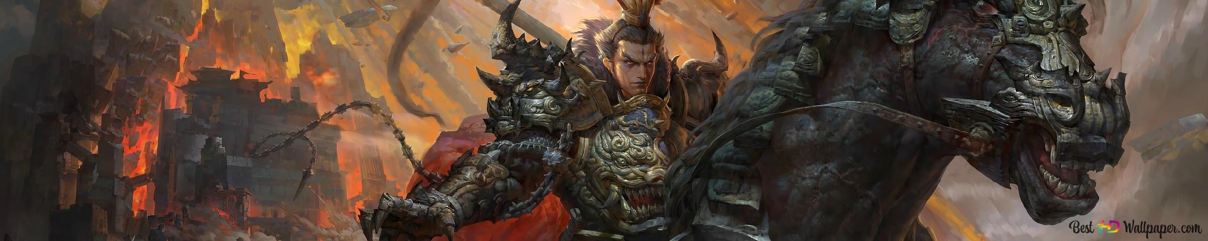Samurai Warrior Epic Battle HD wallpaper download