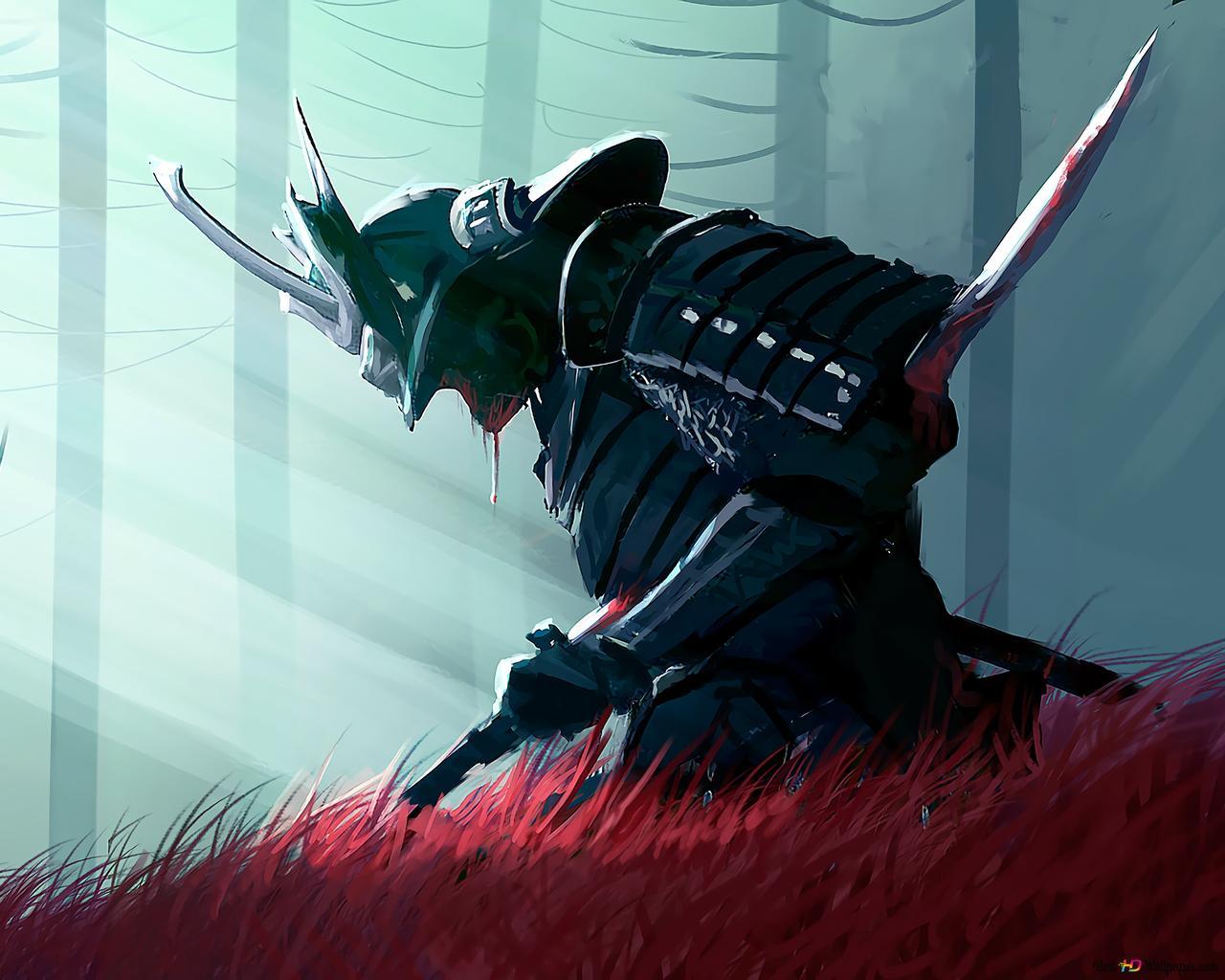 Samurai Warrior Fantasy HD wallpaper