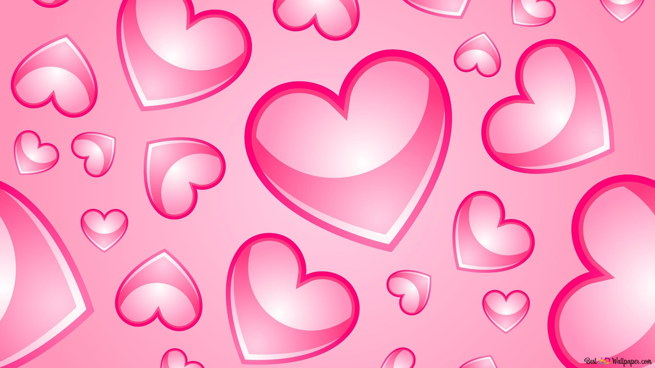 San Valentino Bella Rosa Cuori Artistici Download Di Sfondi Hd