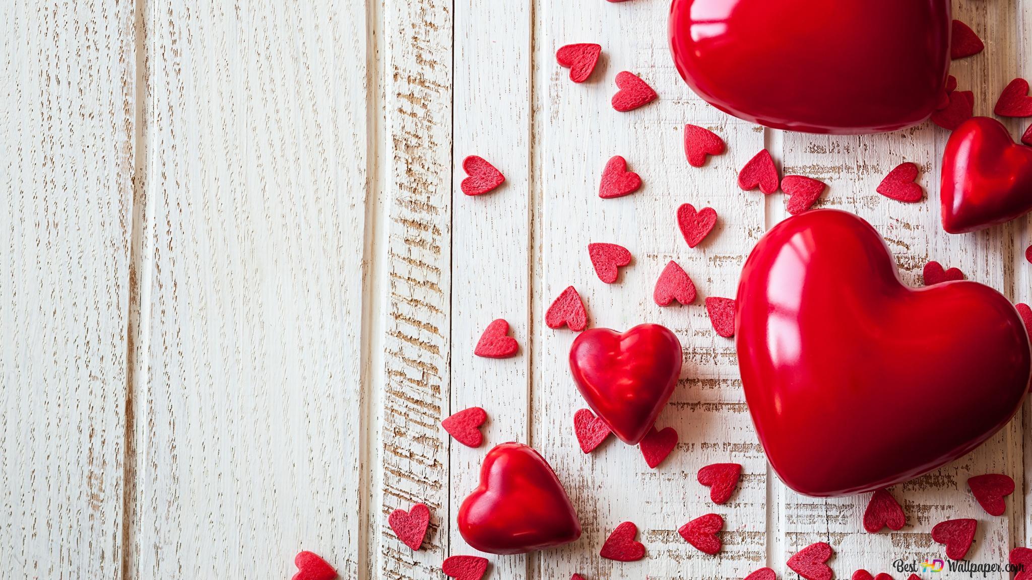 San Valentino Cuore Rosso Vicino Download Di Sfondi Hd