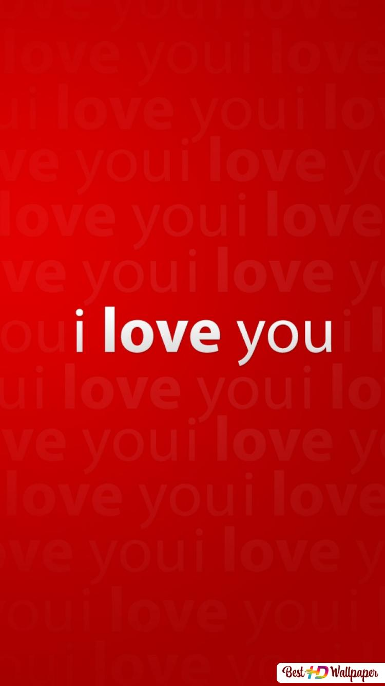 San Valentino Ti Amo Sfondo Rosso Download Di Sfondi Hd