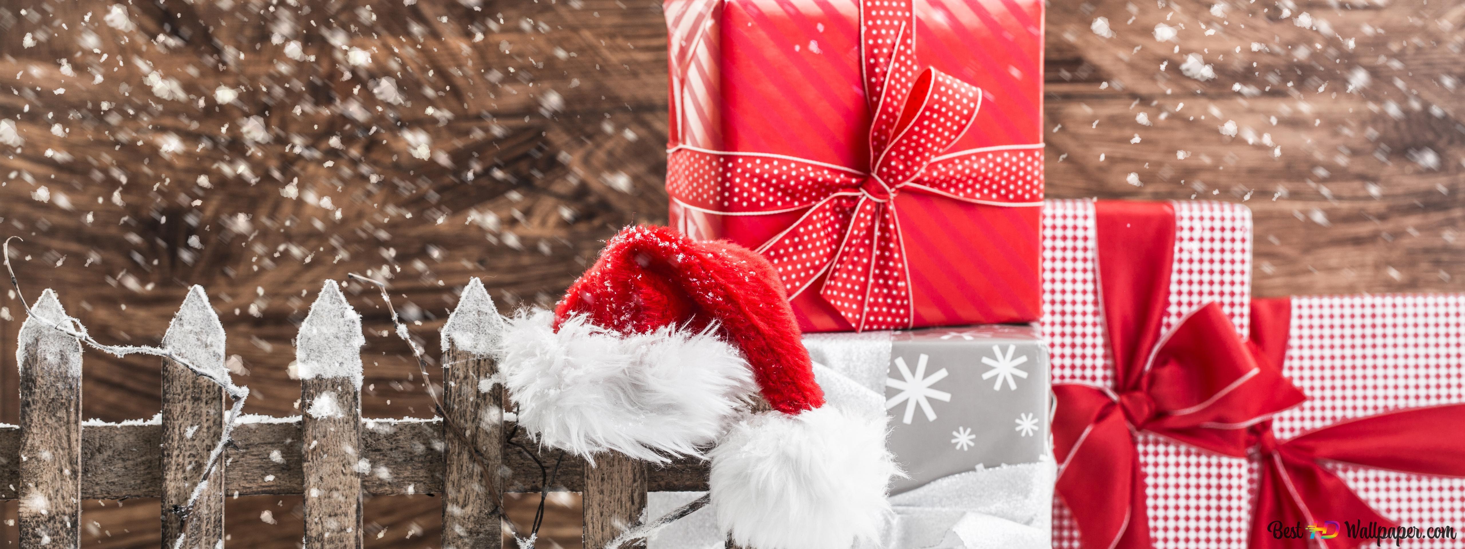 Sankt-Geschenk HD Hintergrundbilder herunterladen