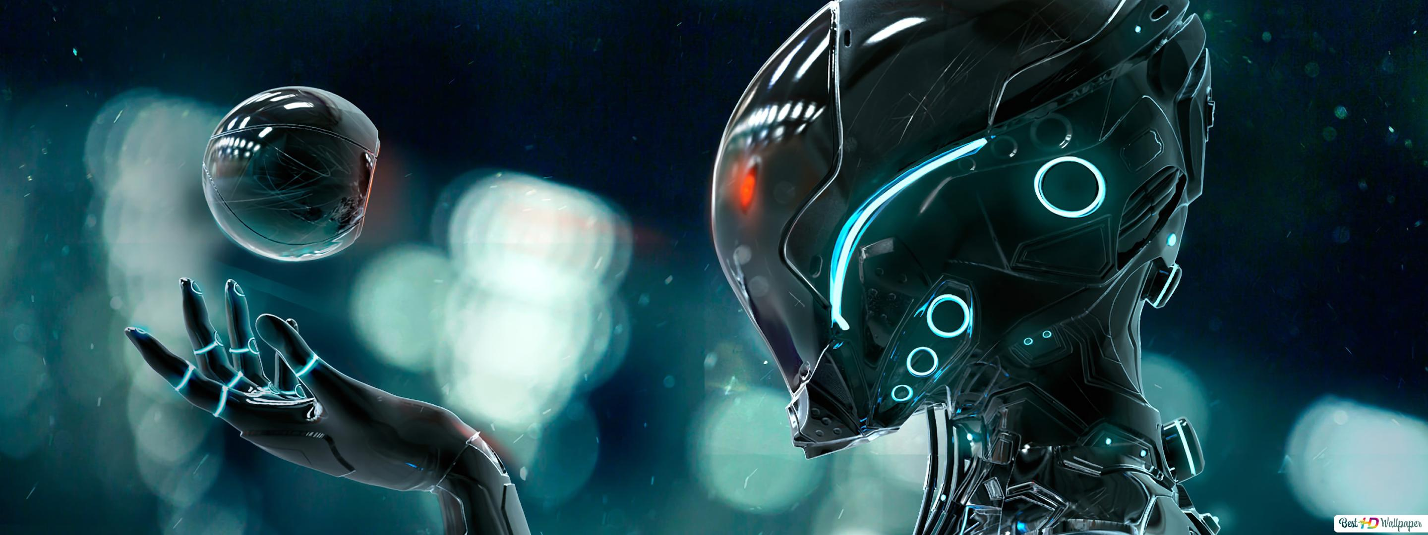 Scifi Android Robot Hd Wallpaper Download