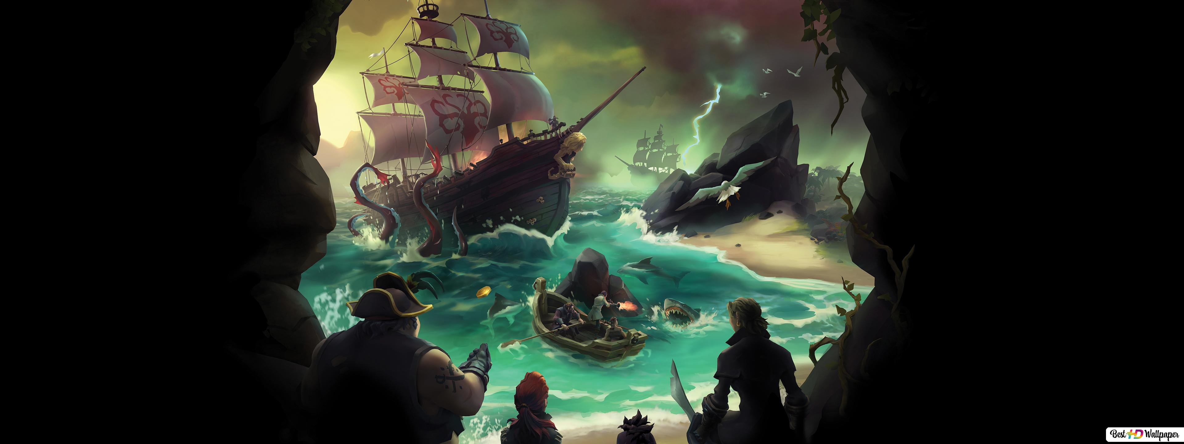 Sea Of Thieves Video Game Hd Wallpaper Download