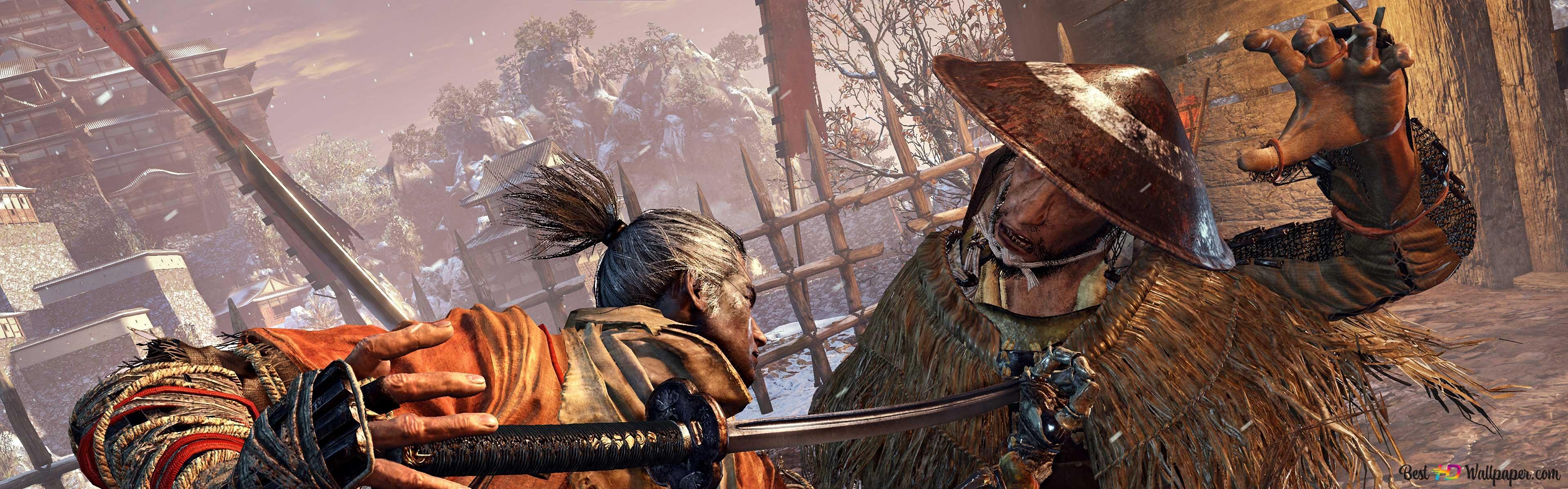 Sekiro Shadows Die Twice Samurai Hd Wallpaper Download