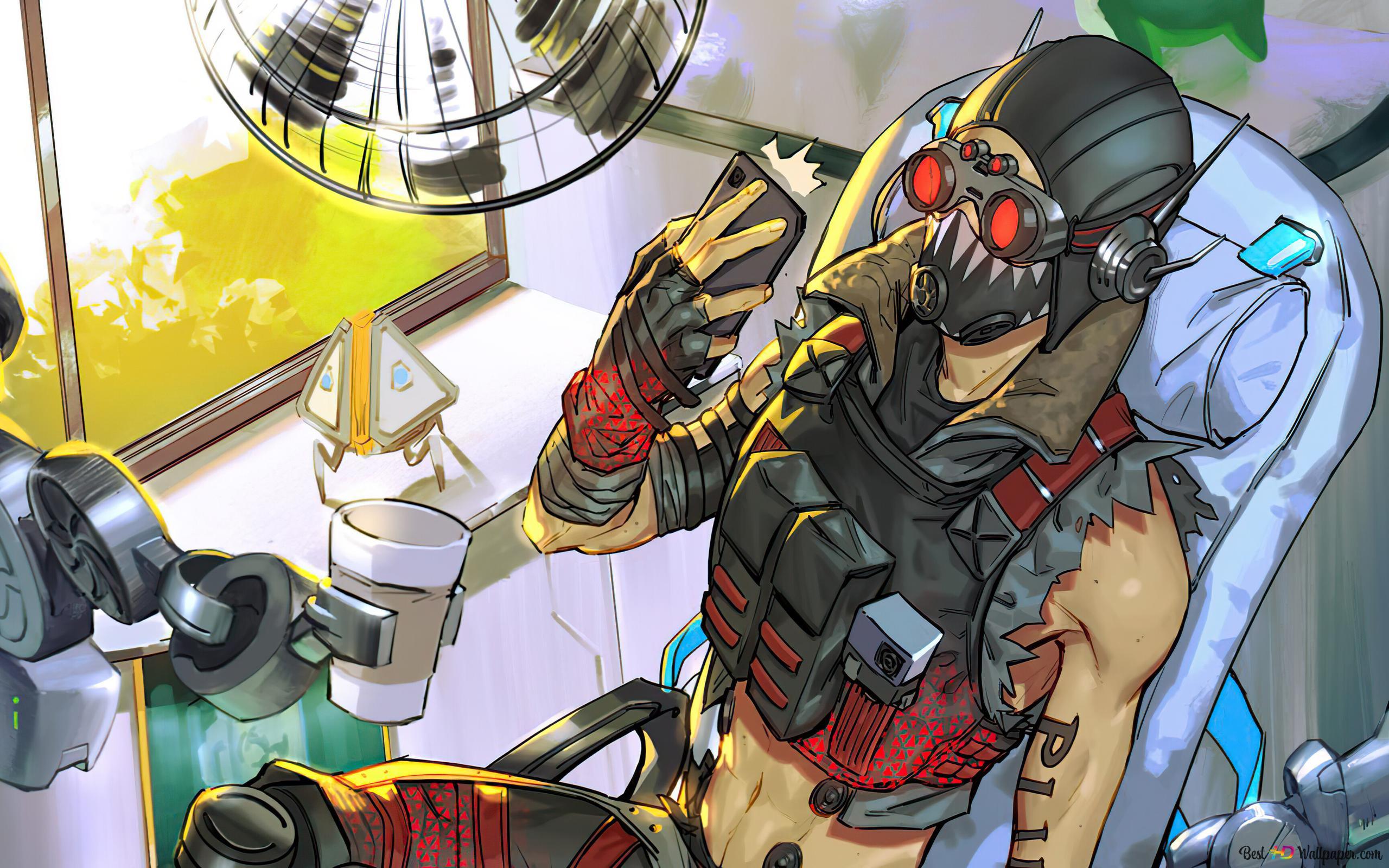 Selfie 'Octane' (Comics Art) - Apex Legends (videogioco) Download di sfondi  HD