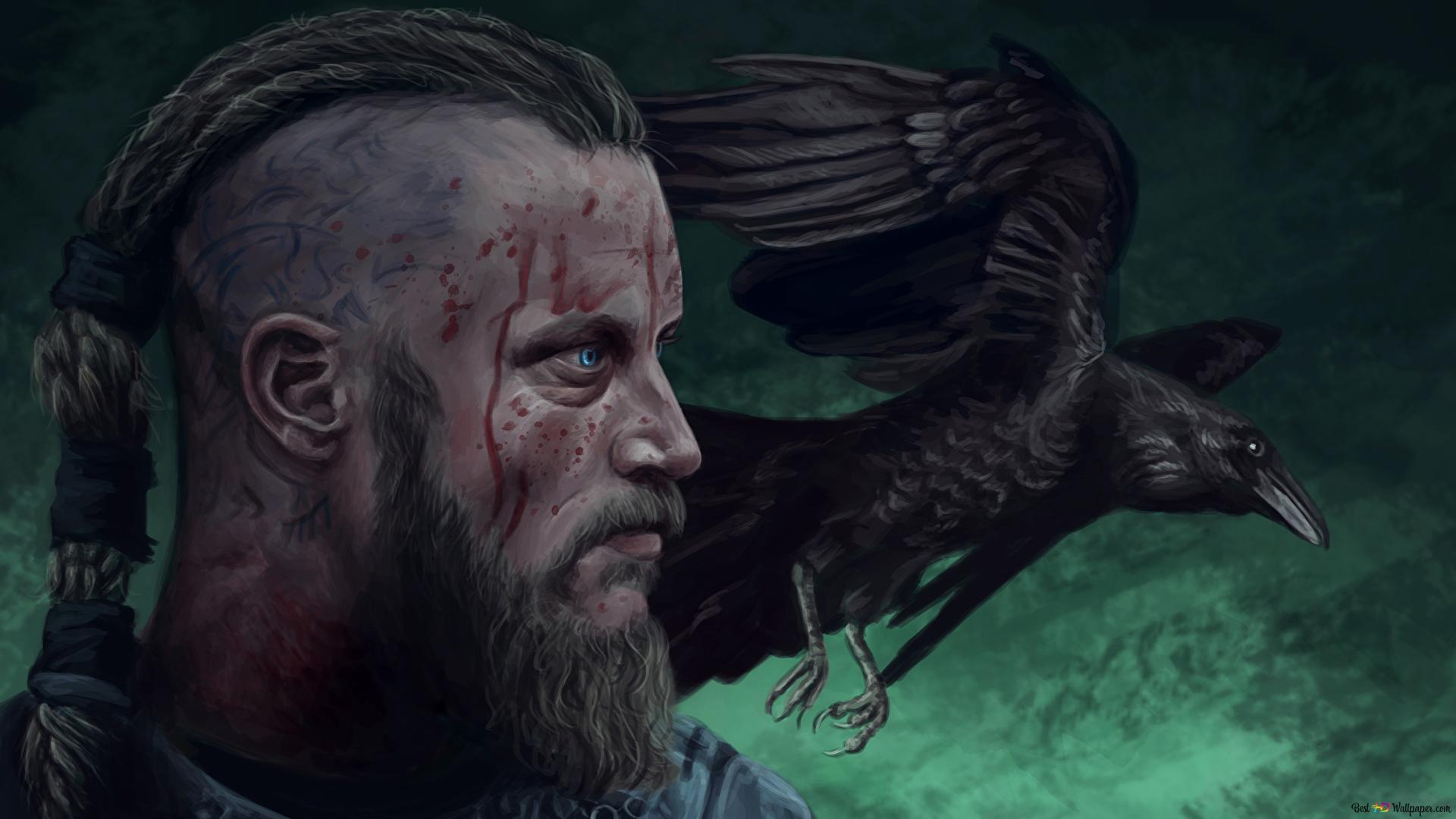 Descargar Fondo De Pantalla Serie Vikings Ragnar Lothbrok