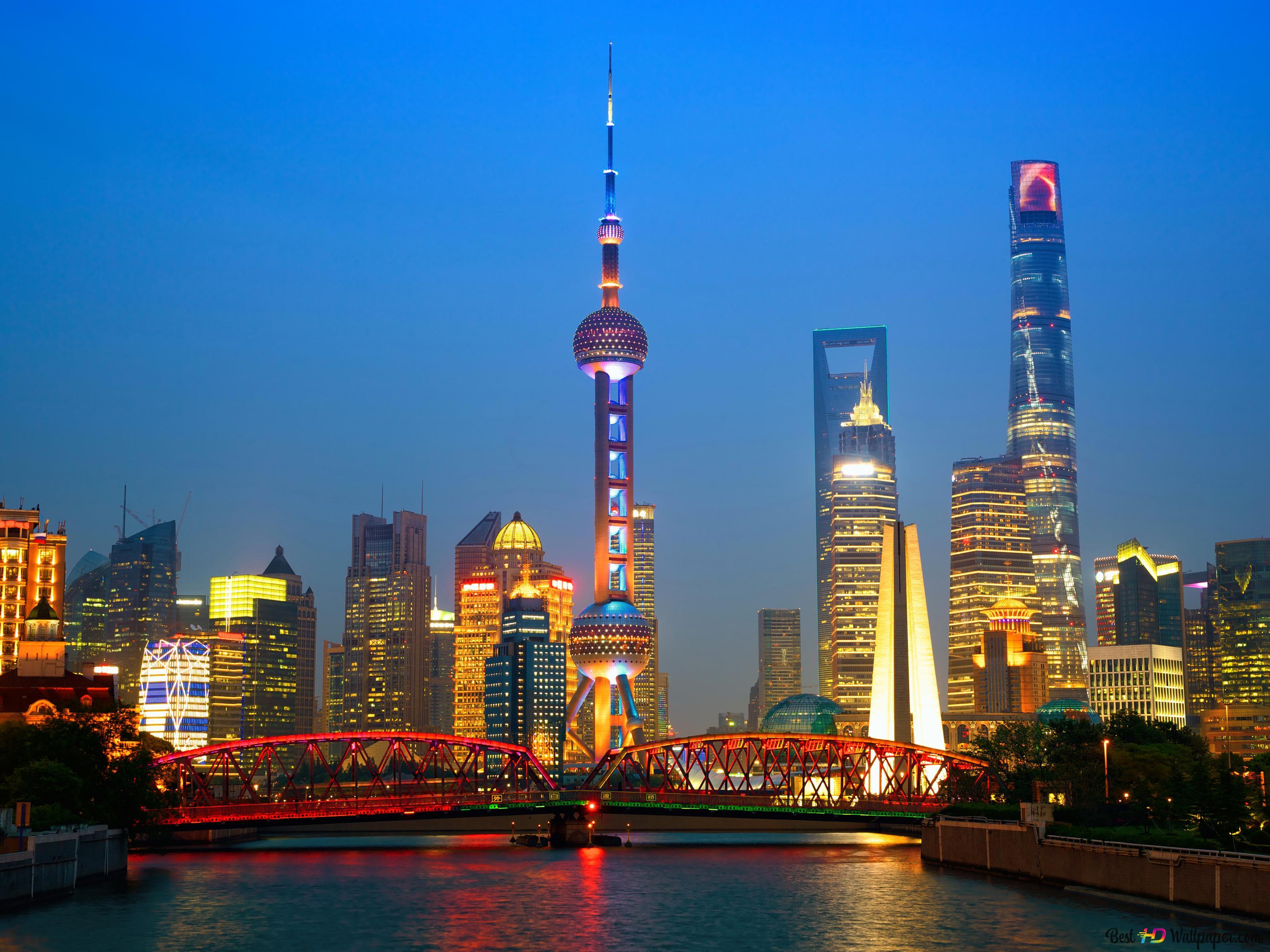 Обои свет, Город, Кнр, шанхай, shanghai, утро, китай. Города foto 10