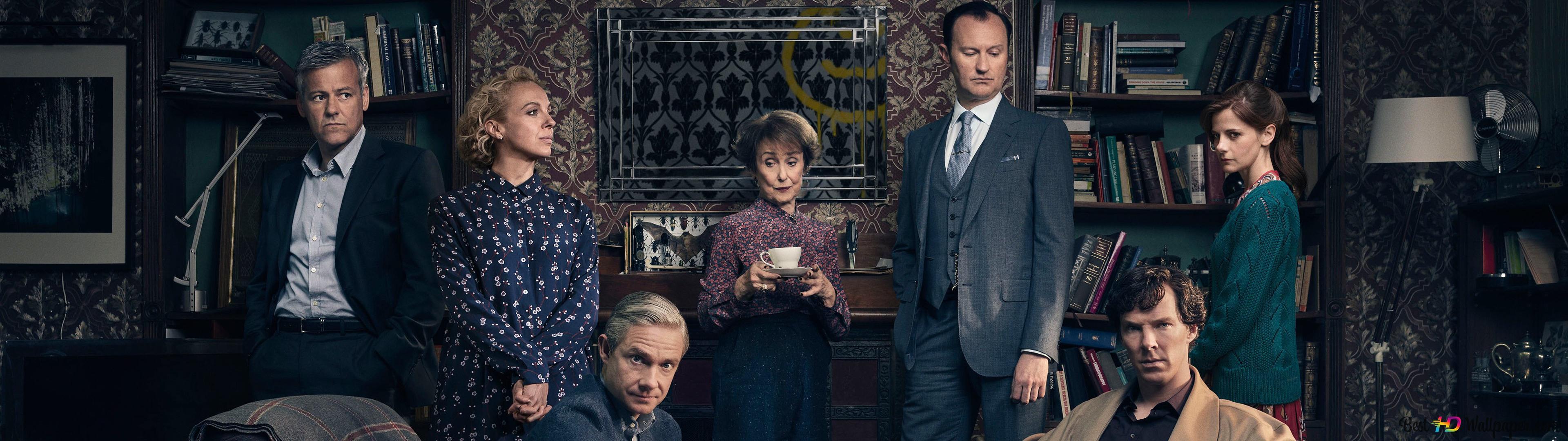 Sherlock Holmes Tv Series HD Wallpaper Download