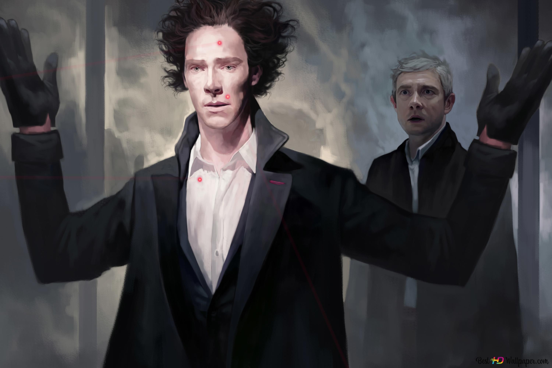 Sherlock (series) - Sherlock Holmes and John H  Watson HD