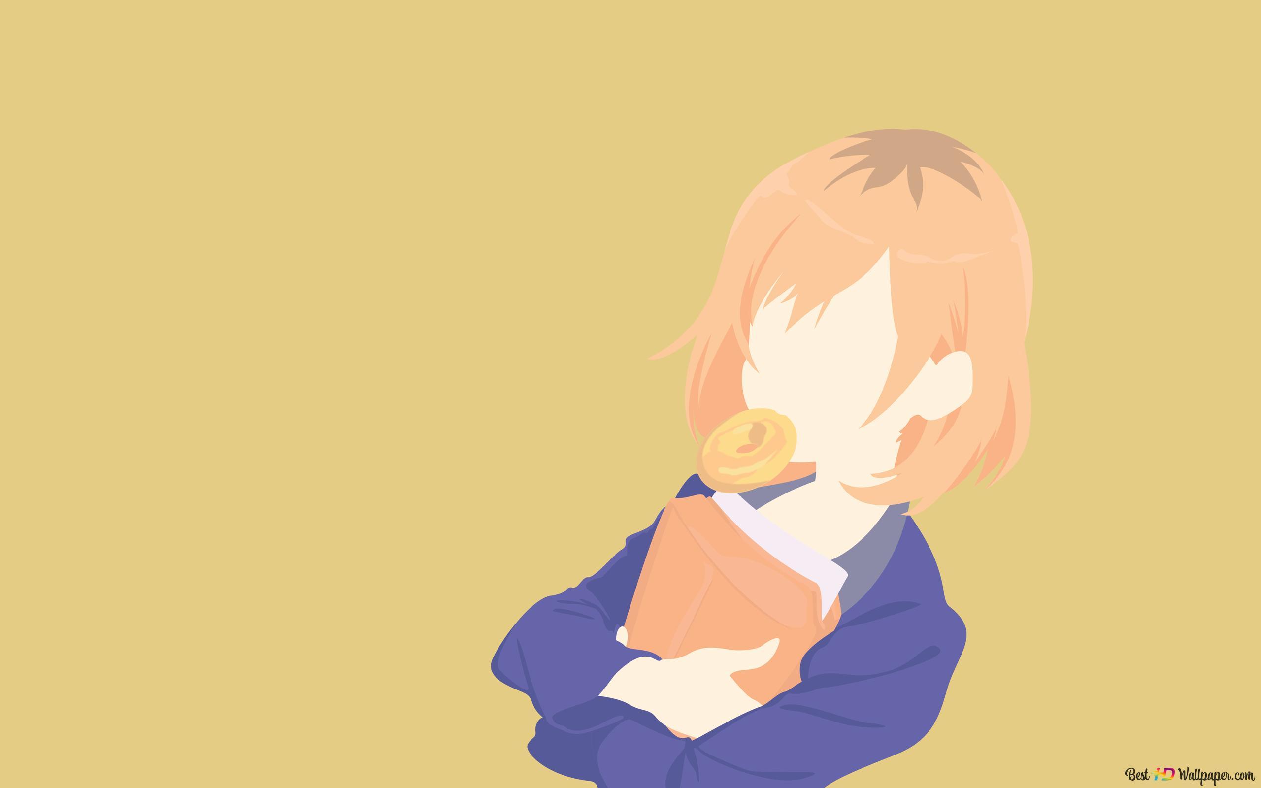 Shirobakoの葵宮森を食べます Hd壁紙のダウンロード
