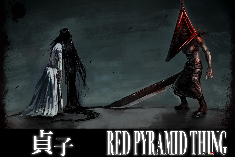 Silent Hill Sadako Pyramid Head Hd Wallpaper Download