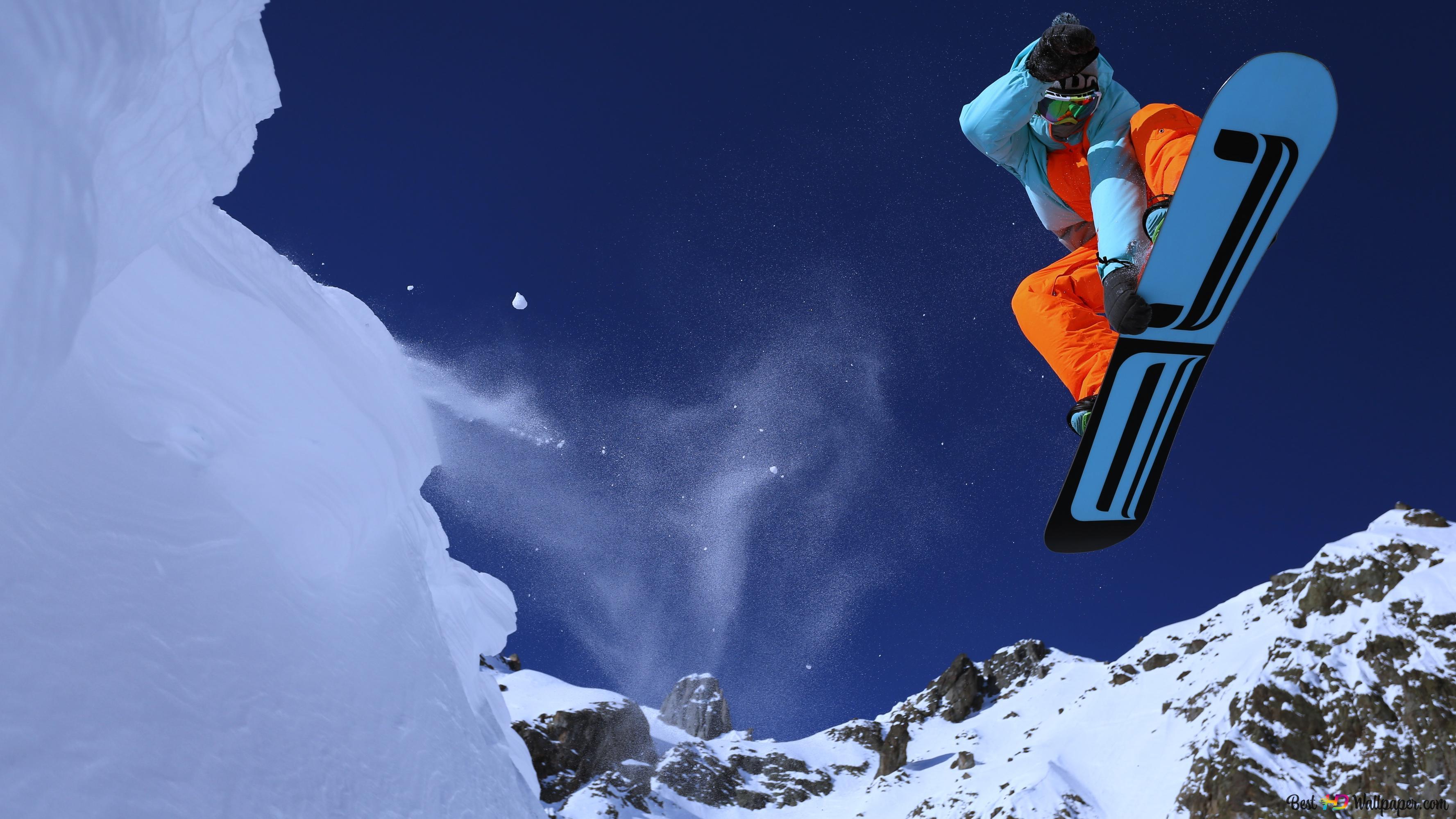 Snowboarding Hd Wallpaper Download