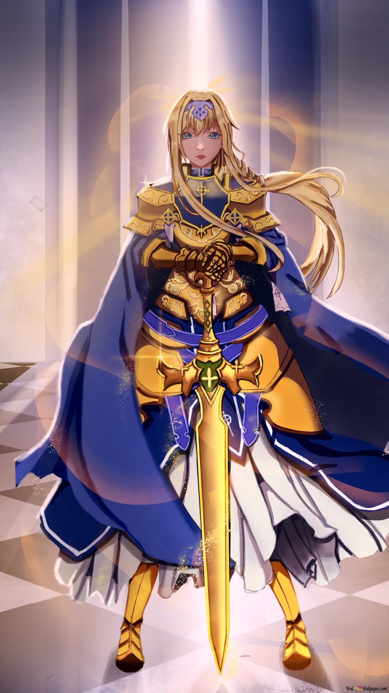 ソードアート オンラインalicization アリスzuberg 黄金の騎士