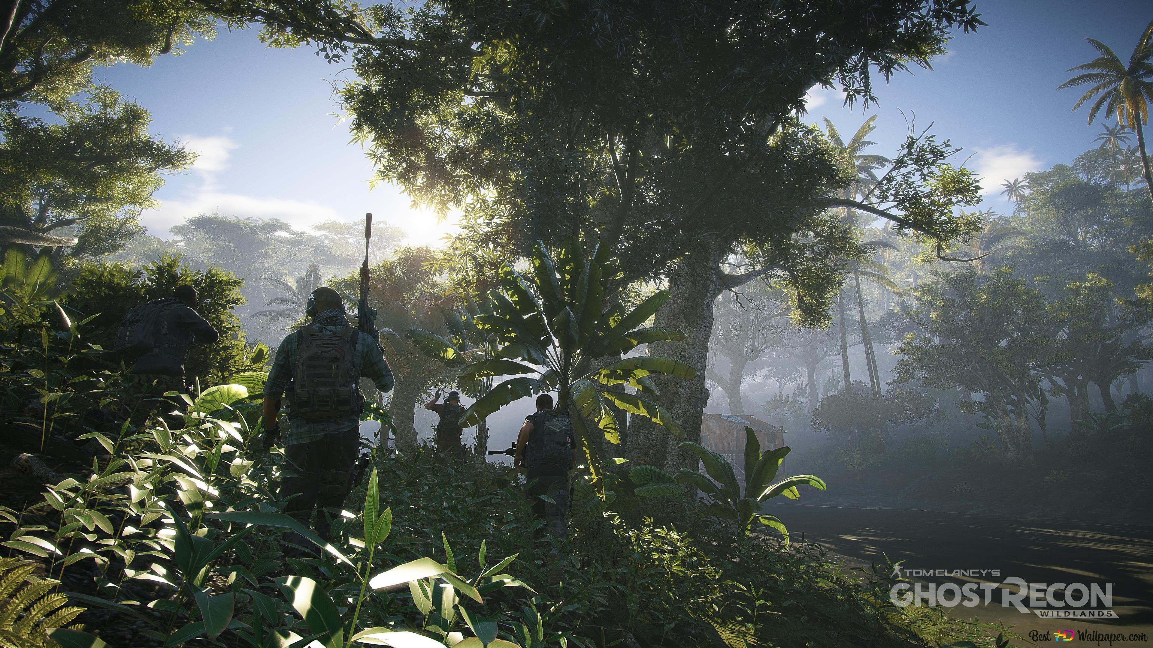 Soldiers On Patrol Tom Clancy S Ghost Recon Wildlands Hd