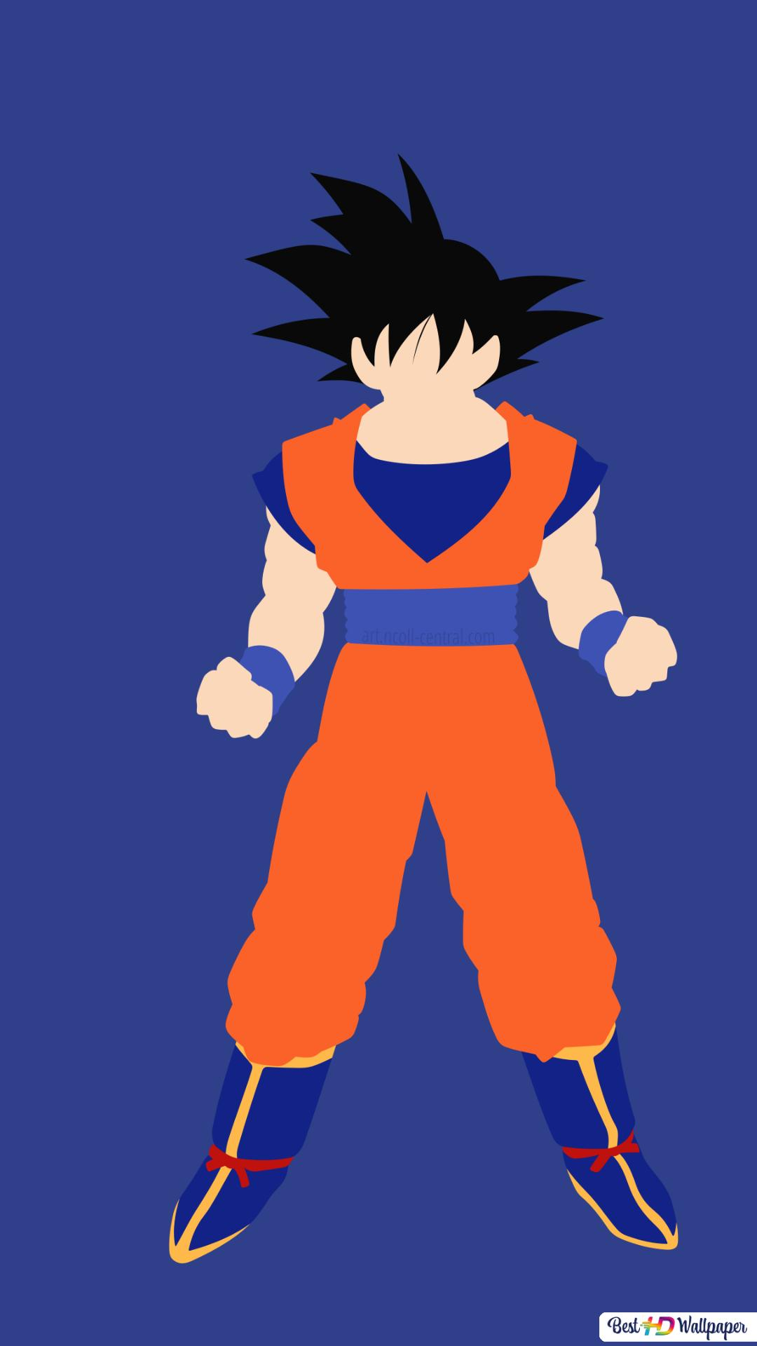 Son Goku Von Dragon Ball Z Hd Hintergrundbilder Herunterladen